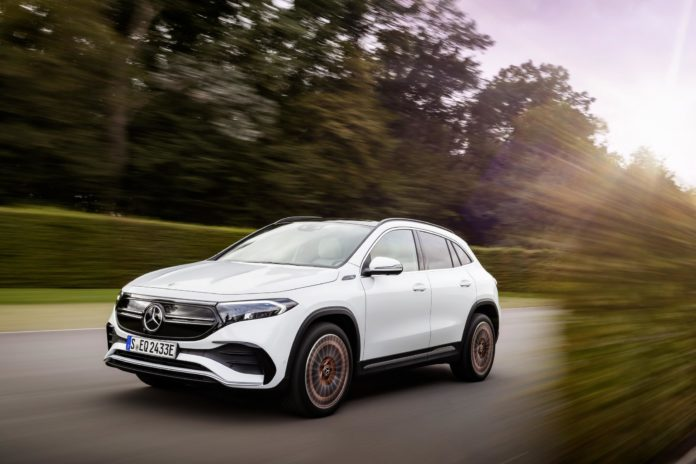 Mercedes-Benz EQA: The Full Electric GLA SUV is Here