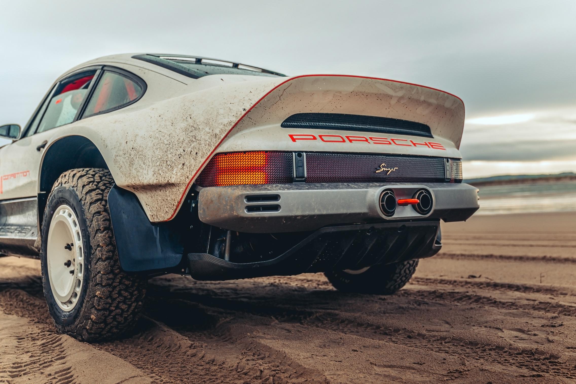Singer-Tuthill Porsche 911 Safari Rear