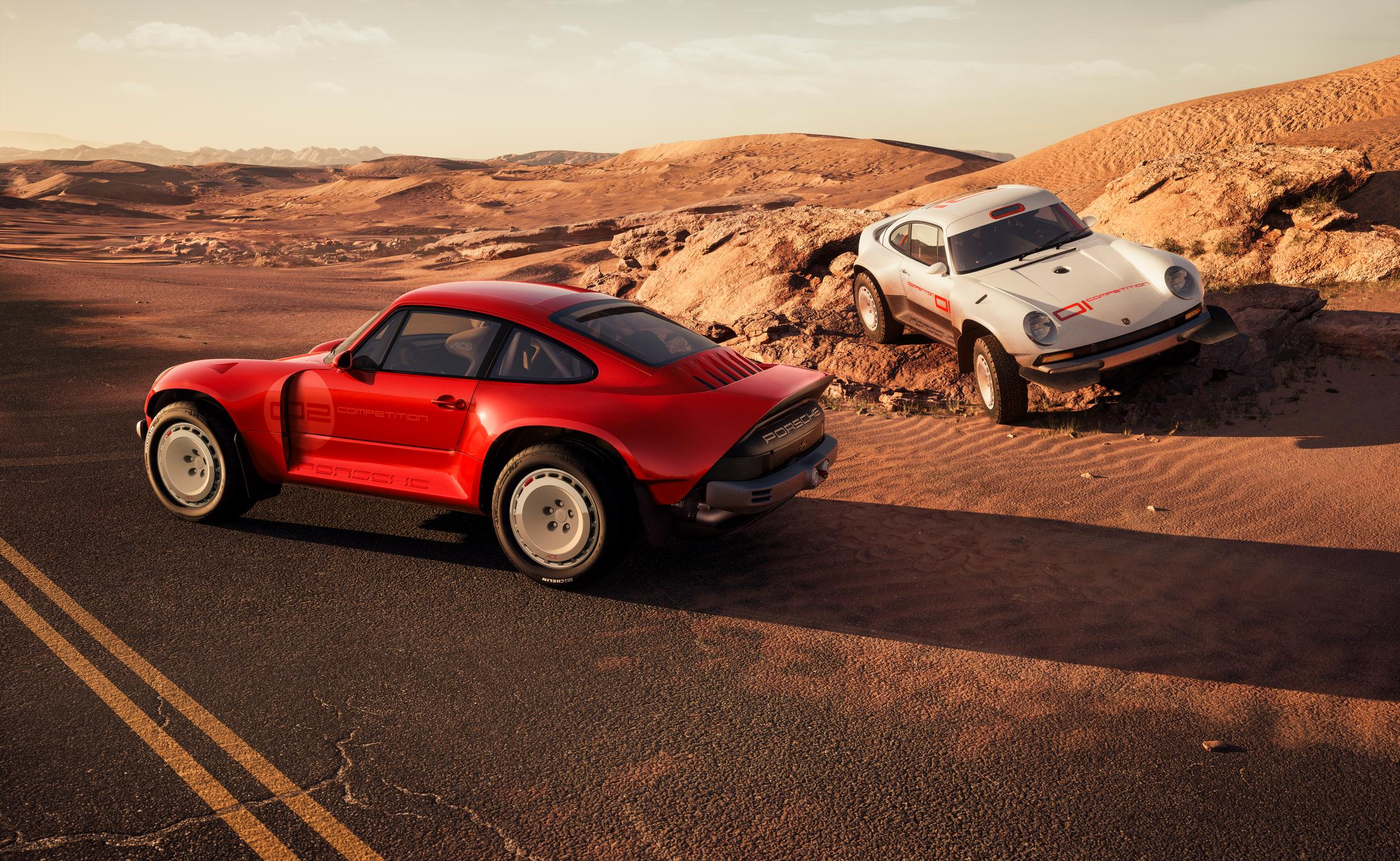 Singer-Tuthill Porsche 911 Safari wallpaper