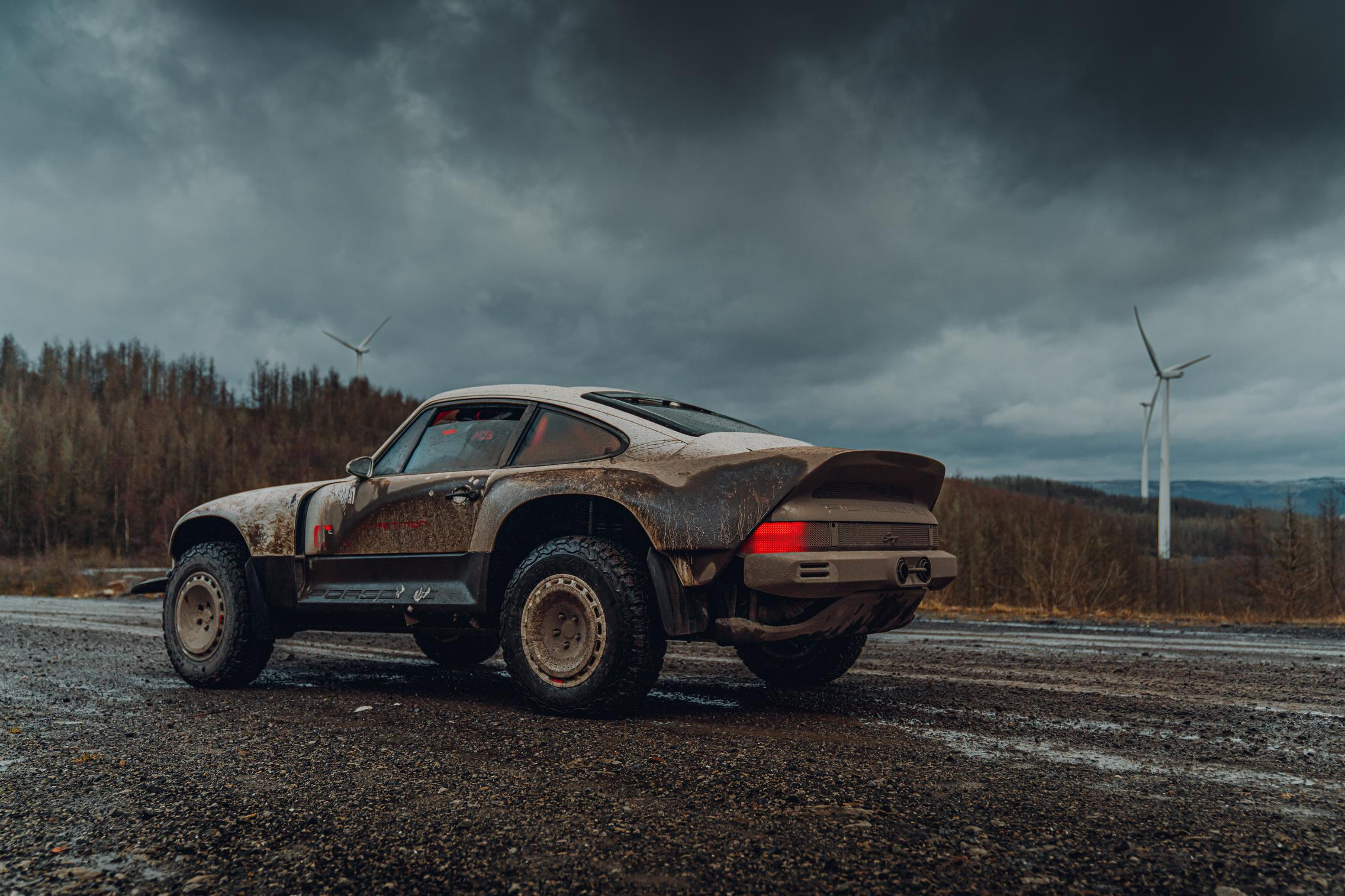 Porsche 911 Safari wallpaper