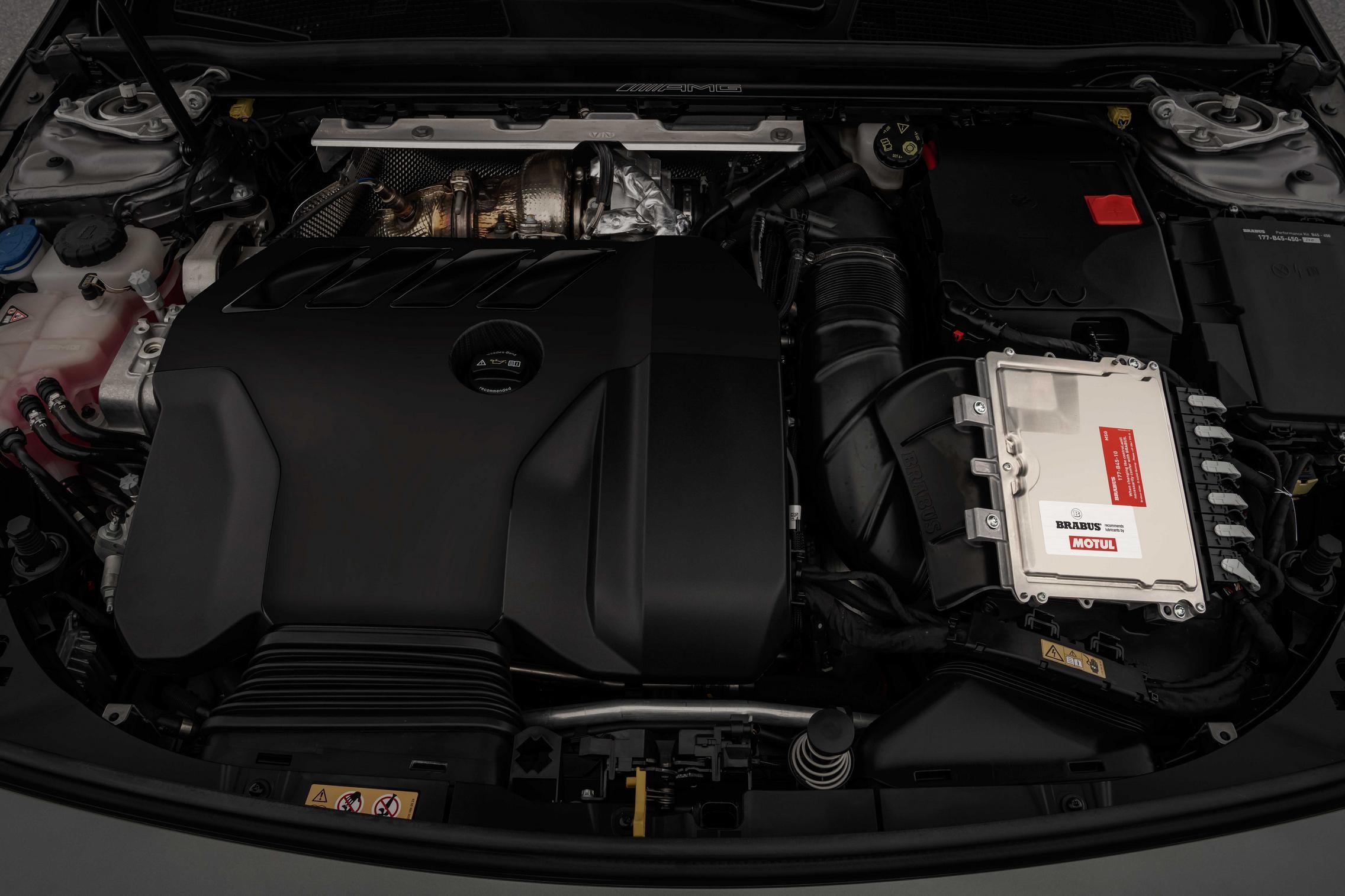 Brabus A45 S AMG engine