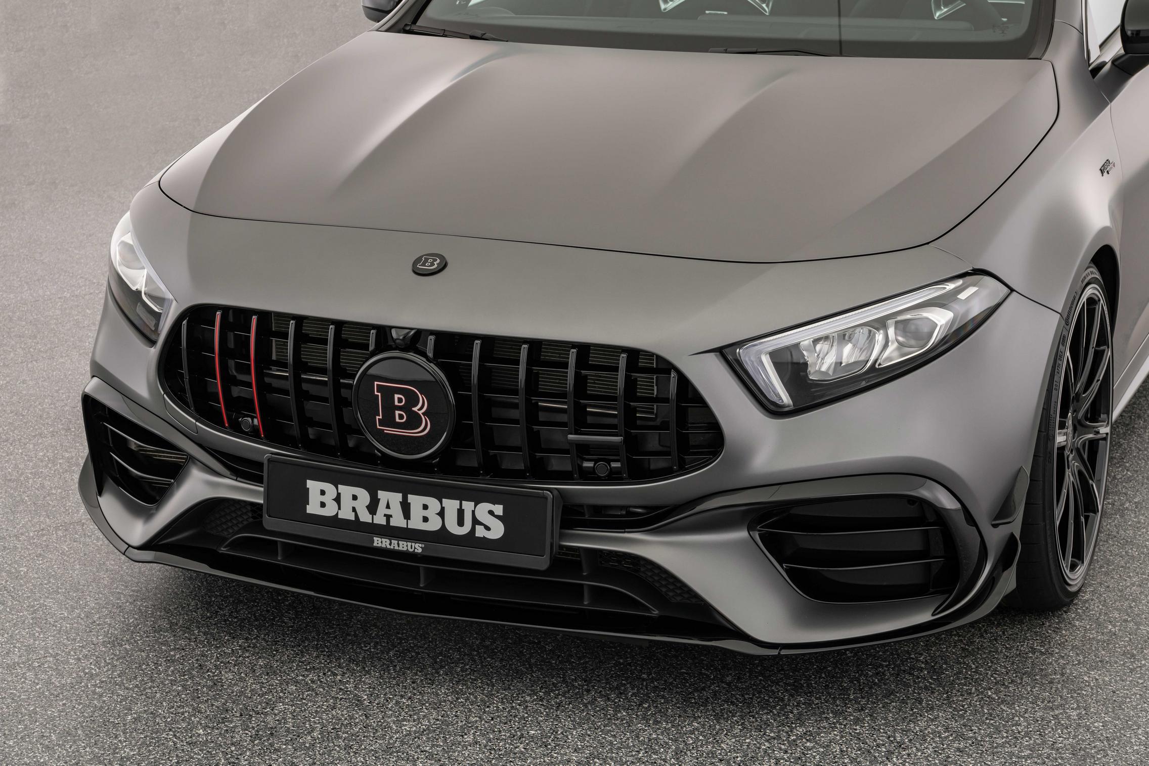 Brabus A45 S AMG headlights