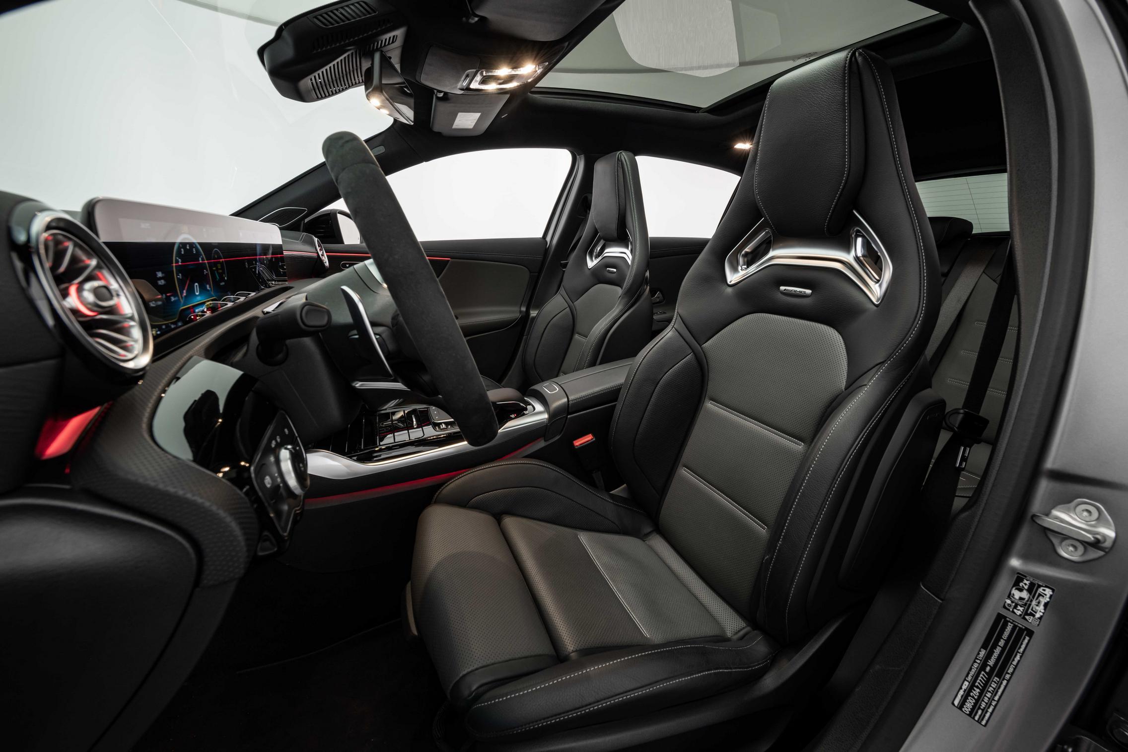 Brabus B45 A45 S AMG interior