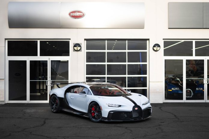 First Bugatti Chiron Pur Sport Delivered in the USA – 1 of 60 Worldwide