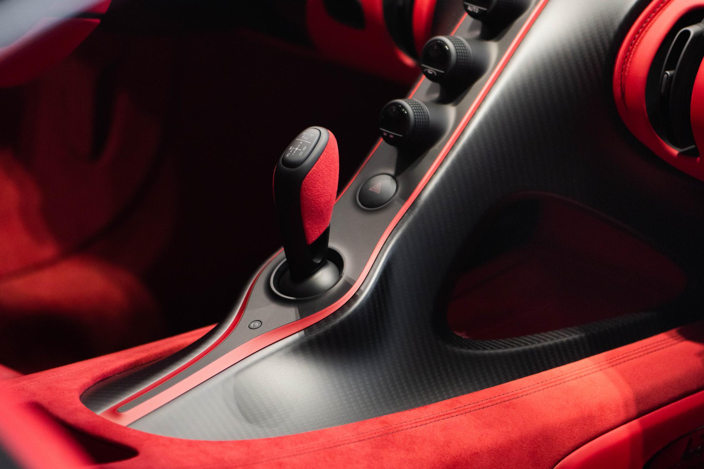 Bugatti Chiron center console