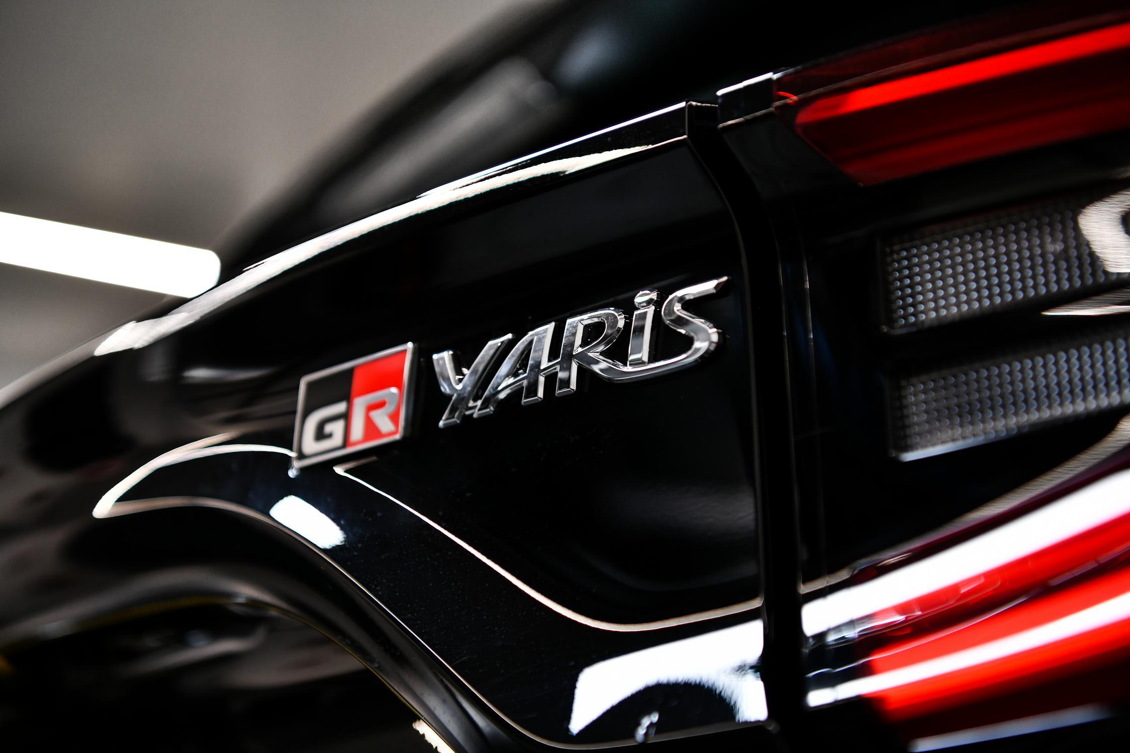 GR Yaris Badge