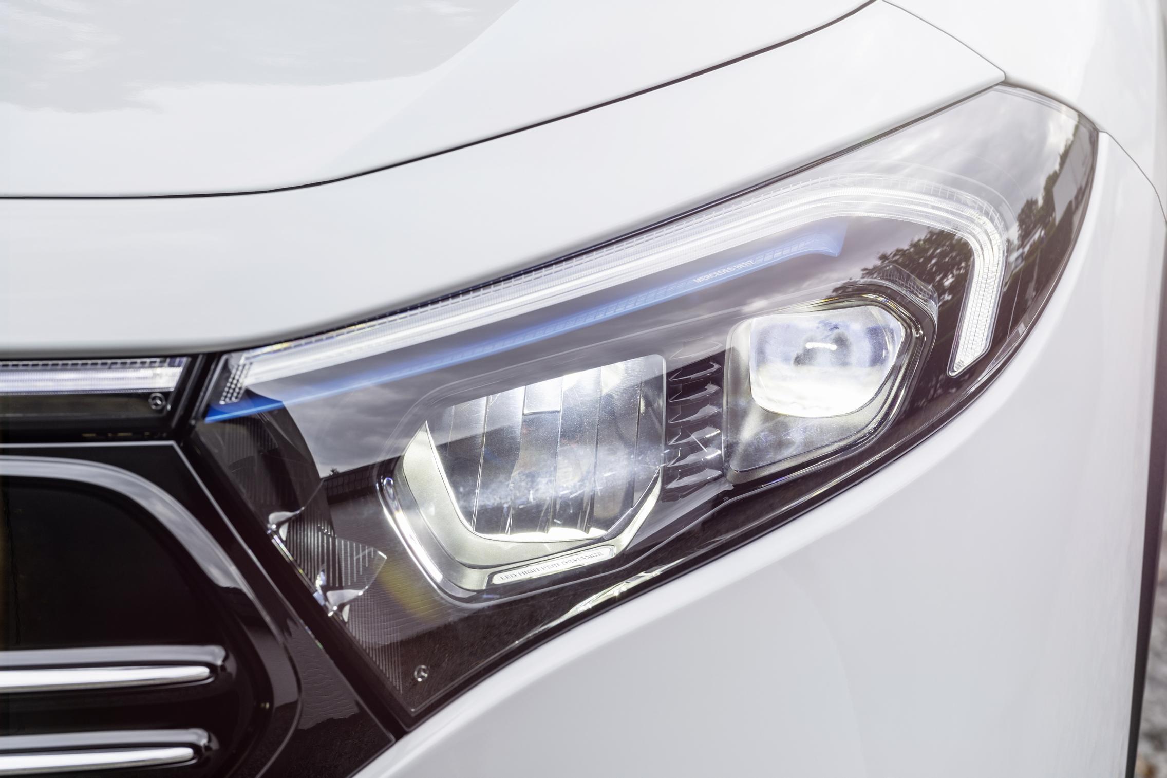 Mercedes-Benz EQA headlights