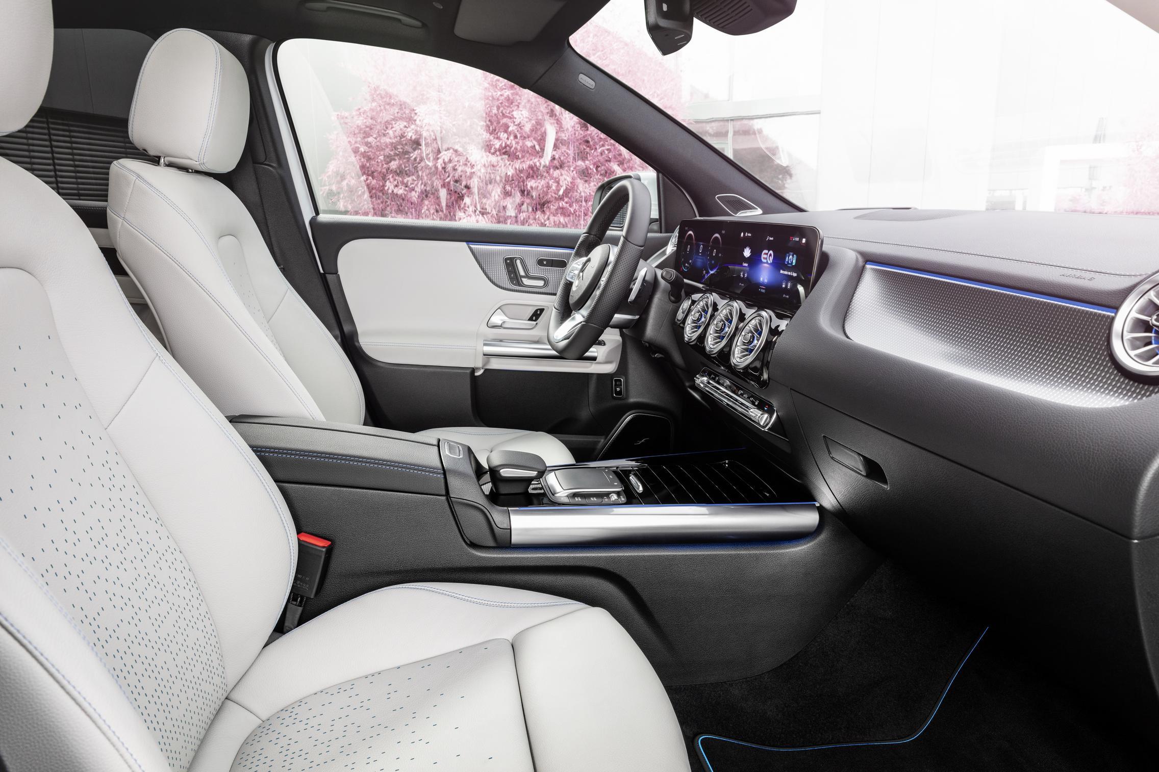 Mercedes-Benz EQA seats