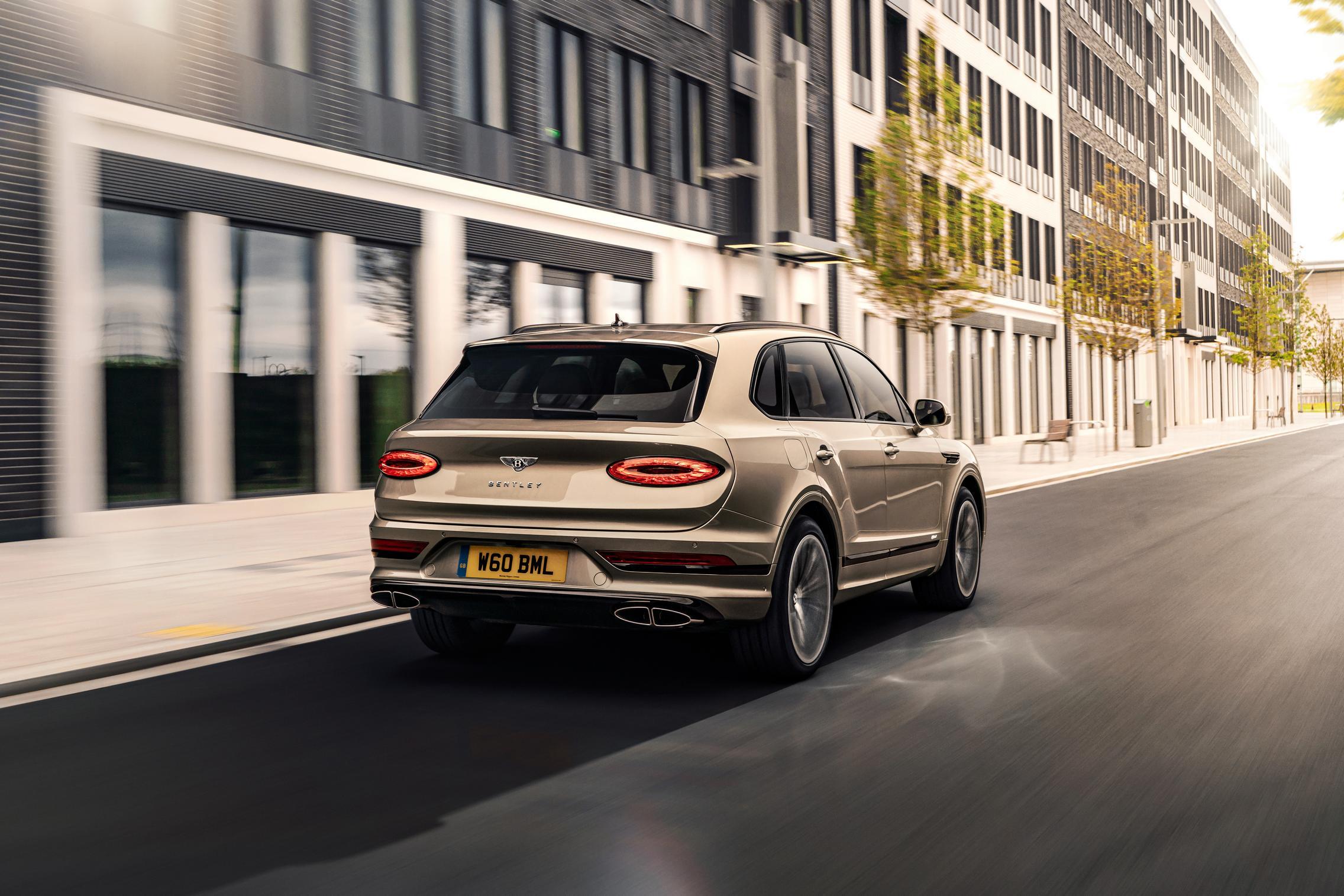 2021 Bentley Bentayga Hybrid Specs
