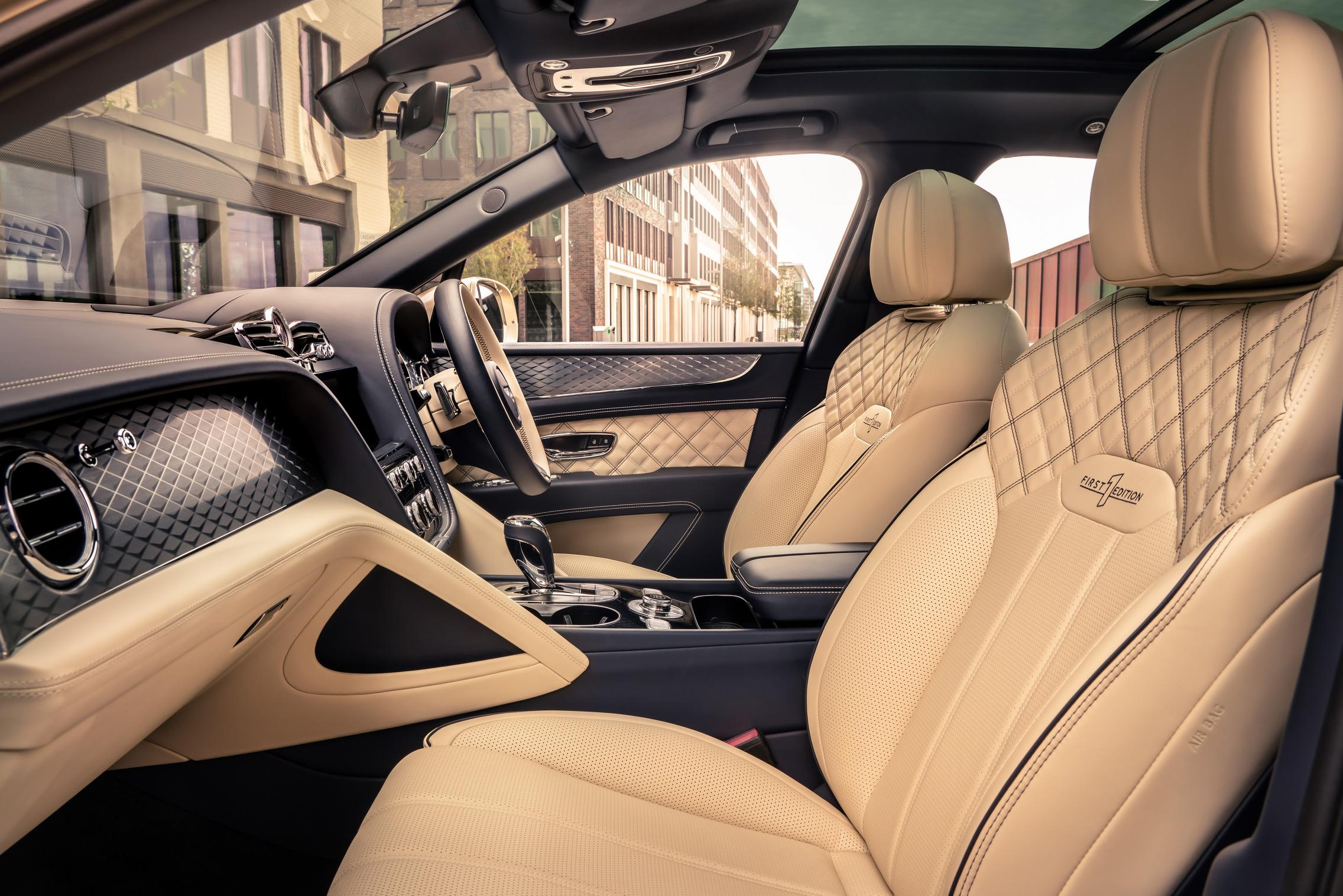 2021 Bentley Bentayga Hybrid cabin