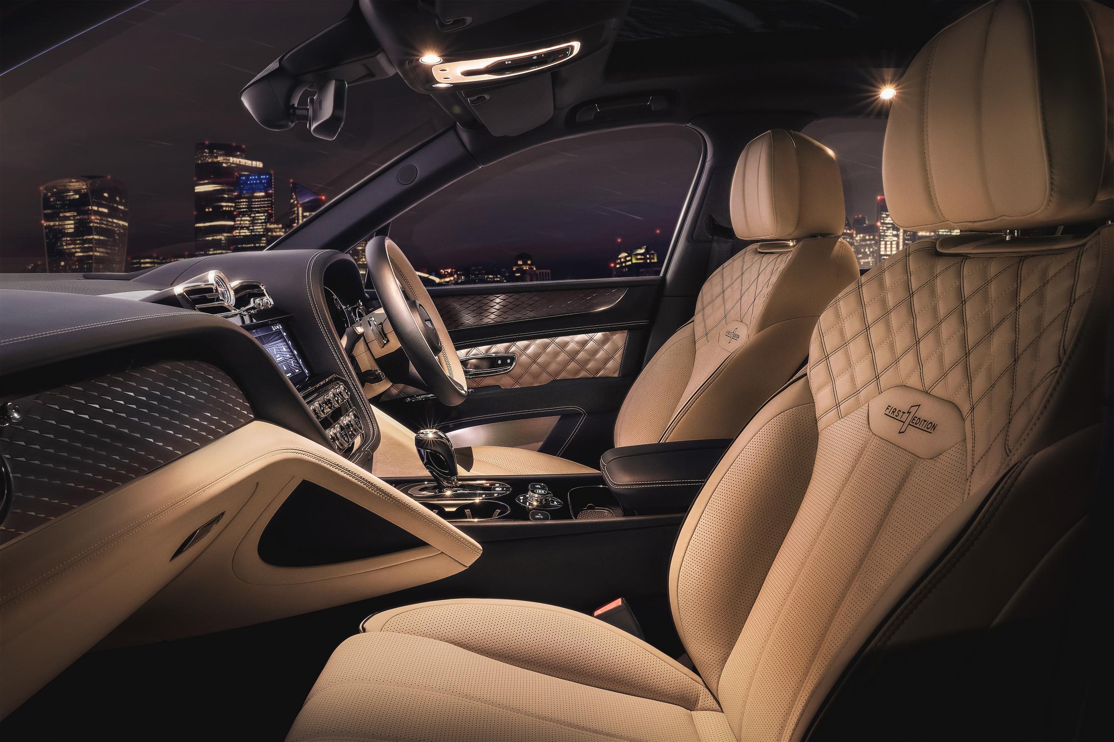 2021 Bentley Bentayga Hybrid seats