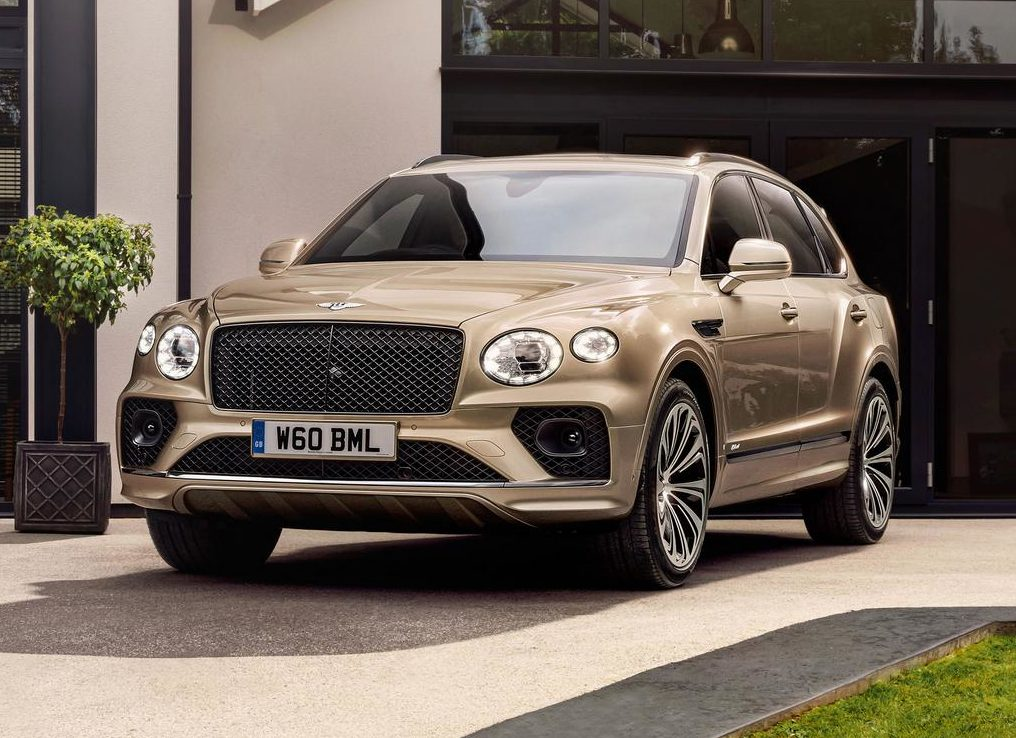 2021 Bentley Bentayga Hybrid Joins Facelift Range with Electrification