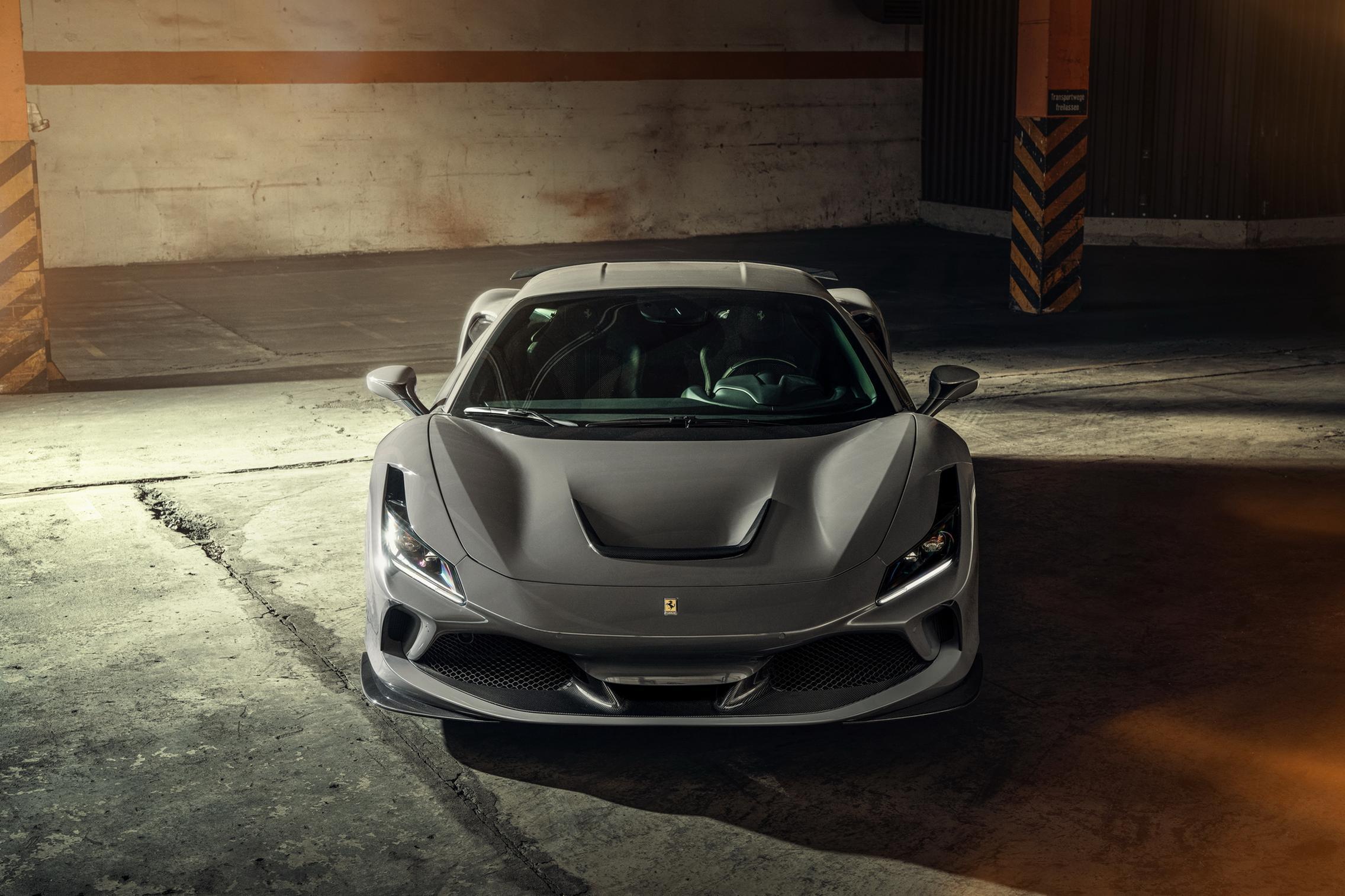 Novitec Ferrari F8 Tributo front