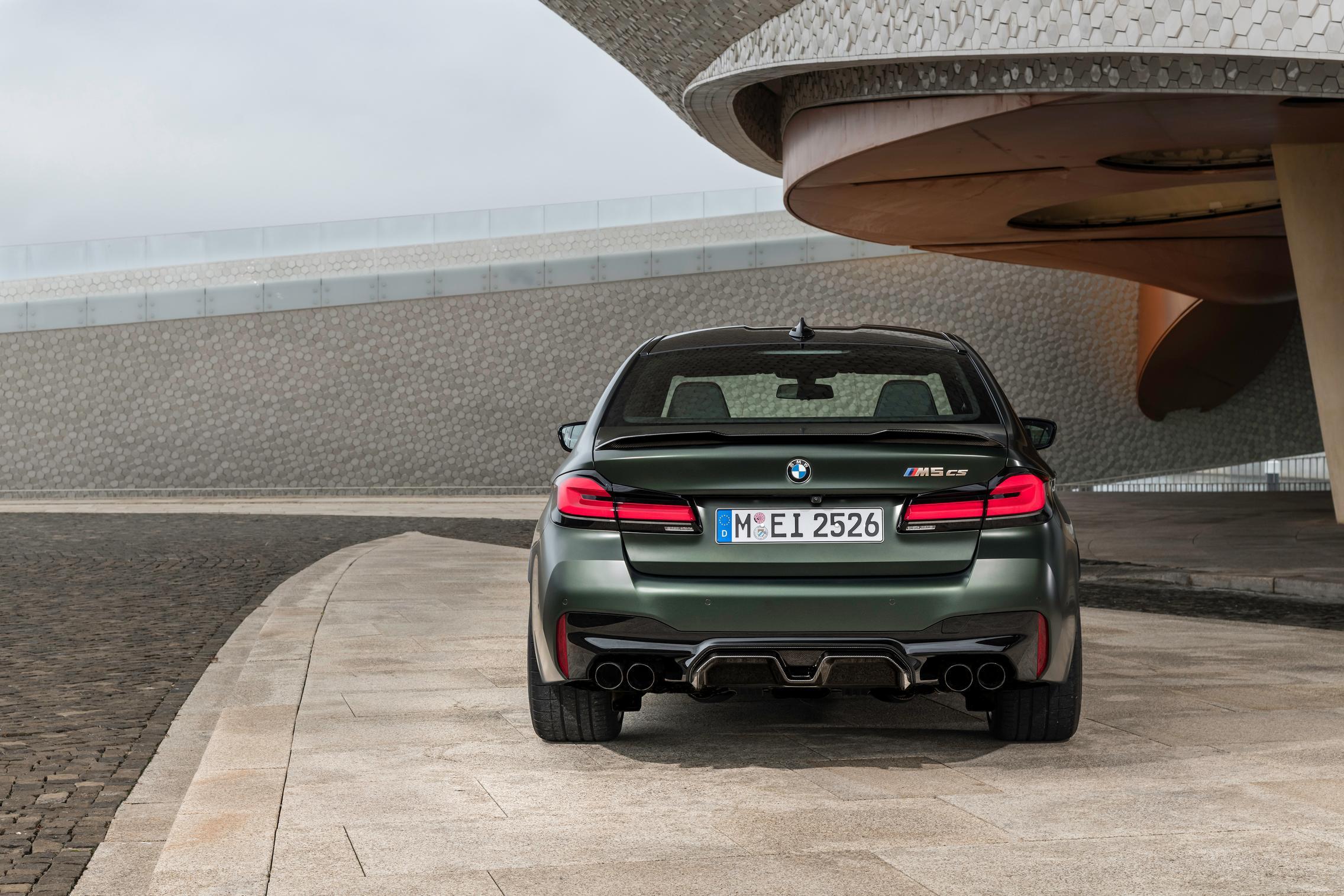 BMW M5 CS rear