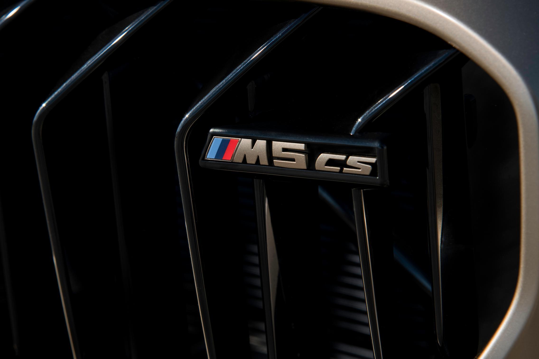 M5 CS badge