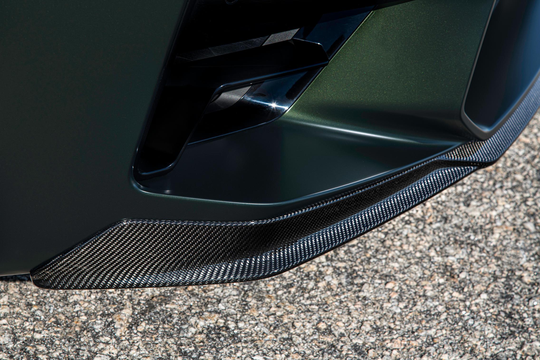 carbon front splitter