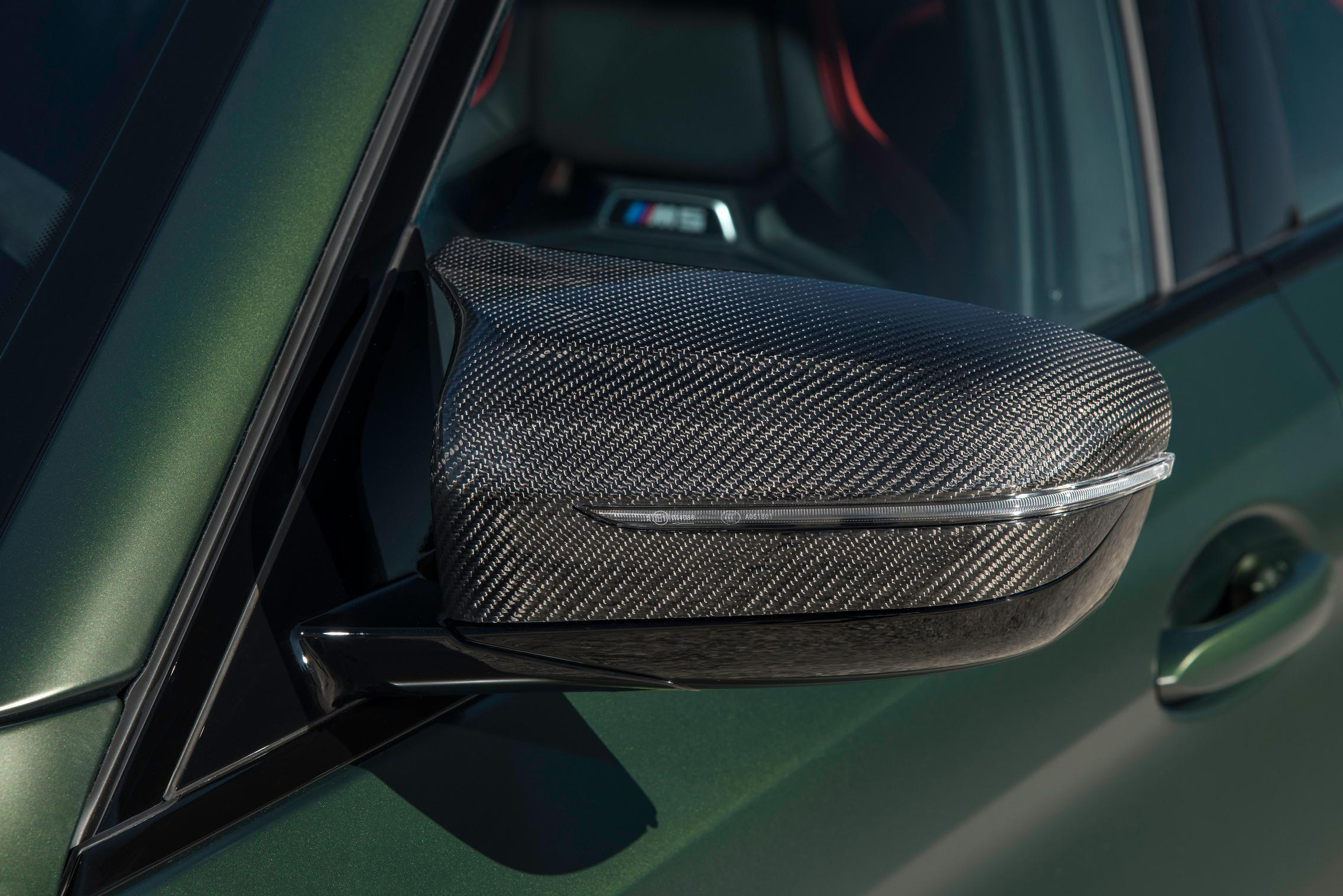 Carbon side mirrors