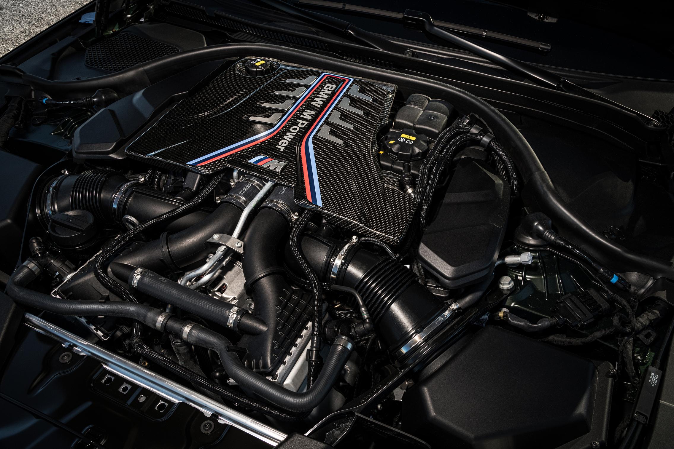 BMW M5 CS engine