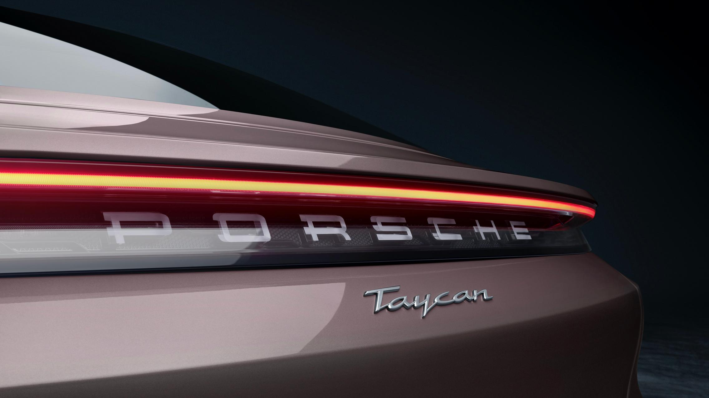 Porsche Taycan RWD rear light