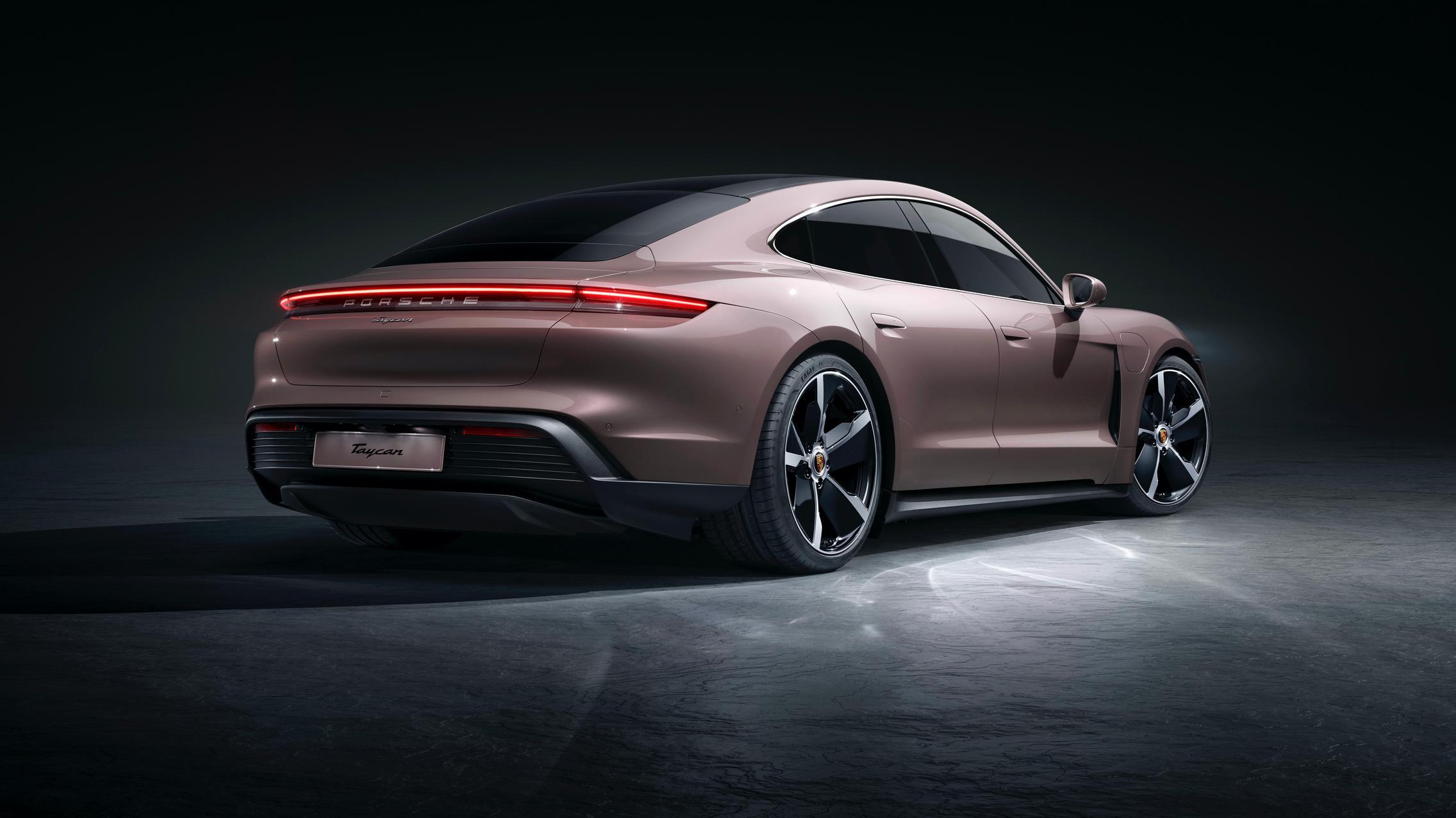 Porsche Taycan RWD rear
