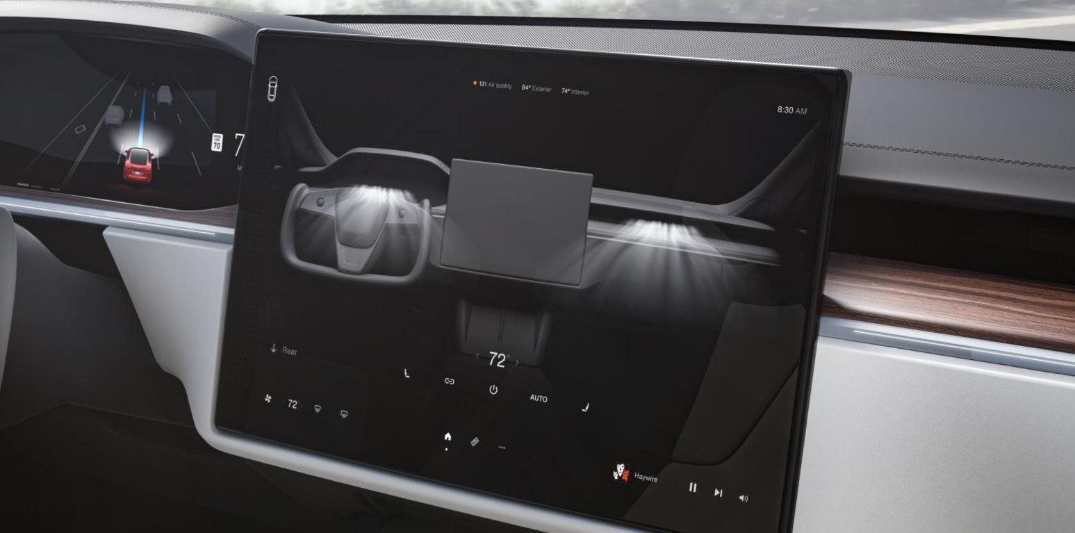 Tesla Model S Plaid interior 2