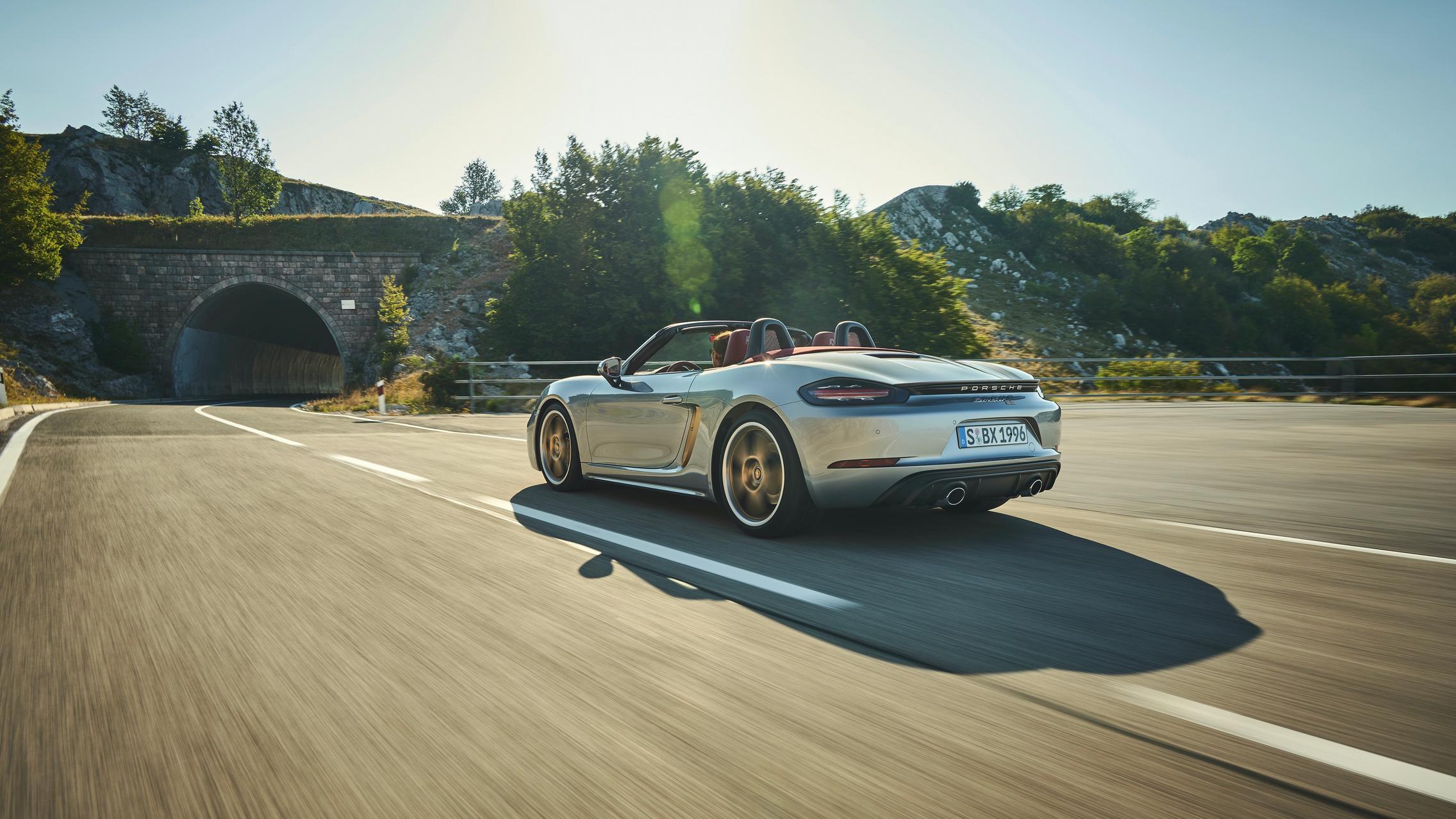 Porsche Boxster specs