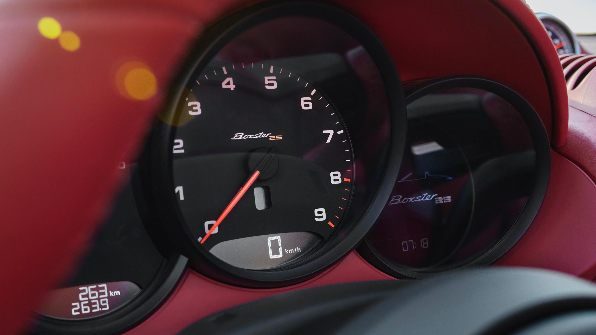 Porsche Speedo