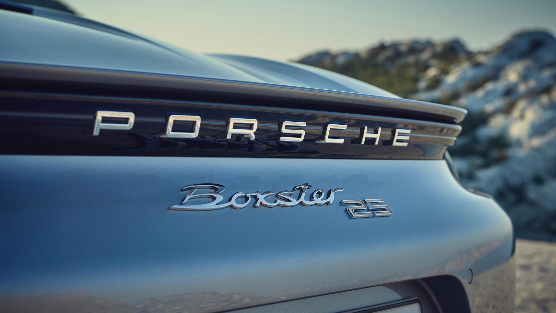 Porsche Boxster Rear Badge