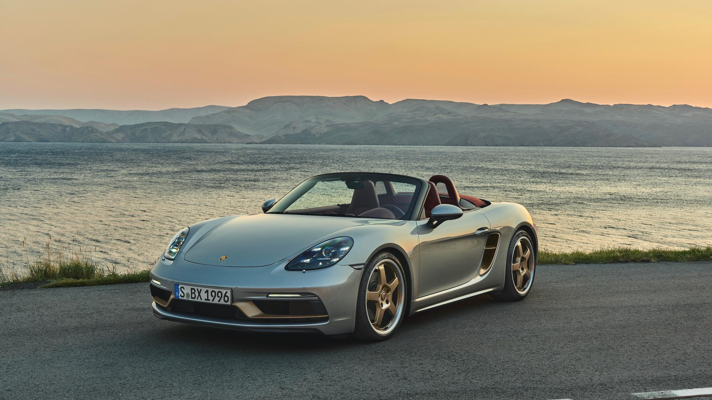 Porsche 718 Boxster 25 Years Limited To 1 250 Units Gtspirit