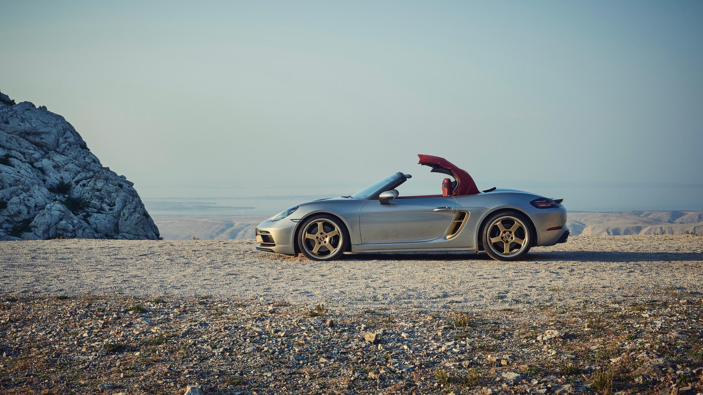 Porsche 718 Boxster Roof