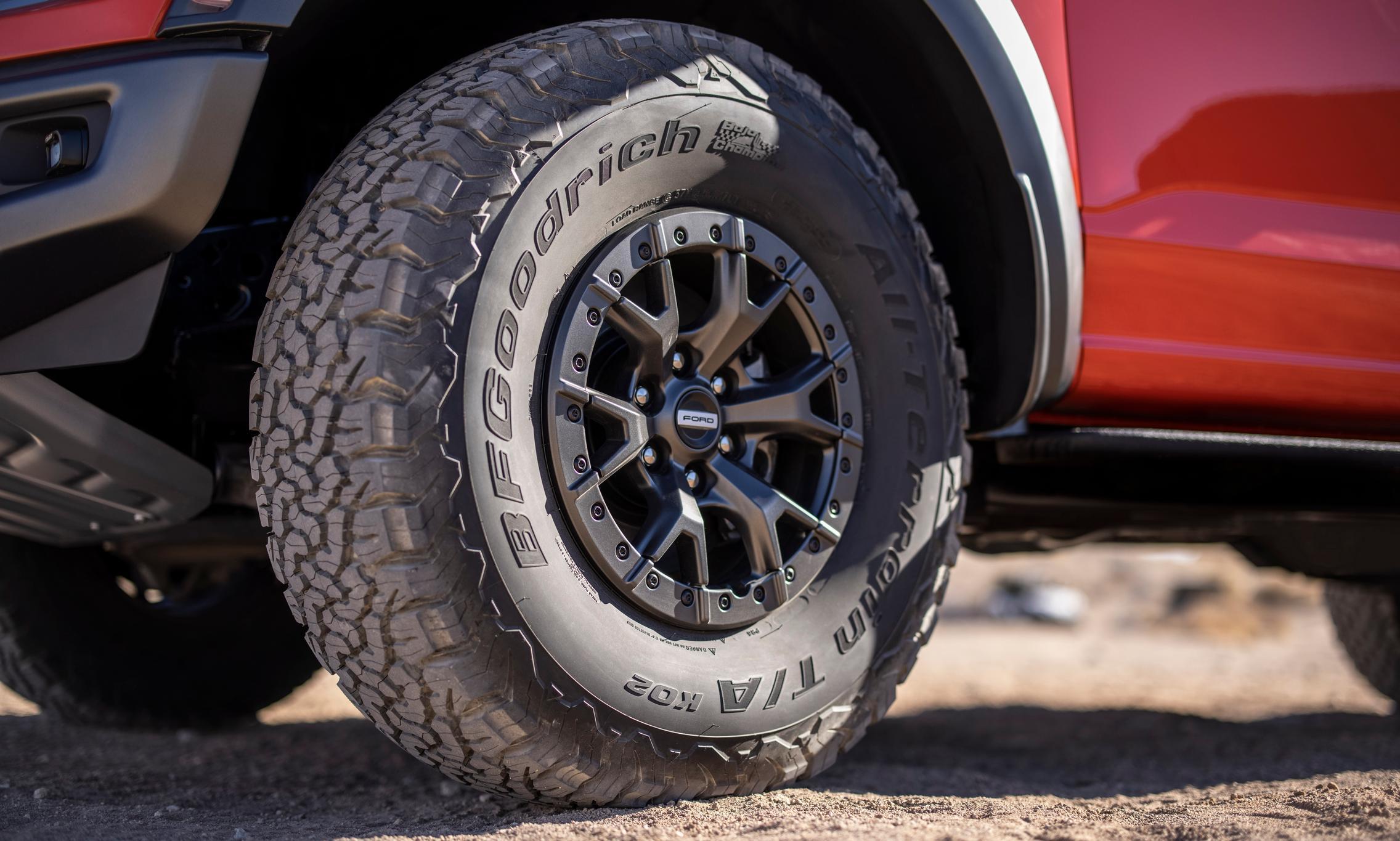 2021 Ford F-150 Raptor wheels