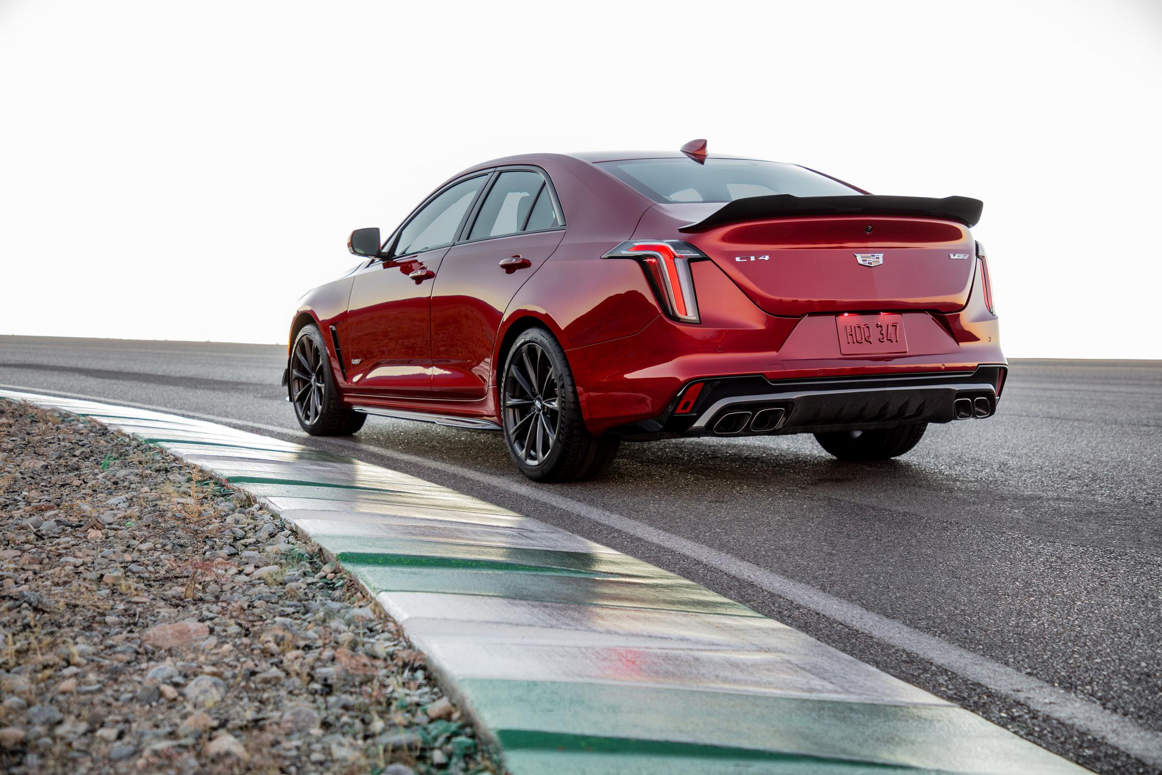 2022 Cadillac CT4-V Blackwing rear