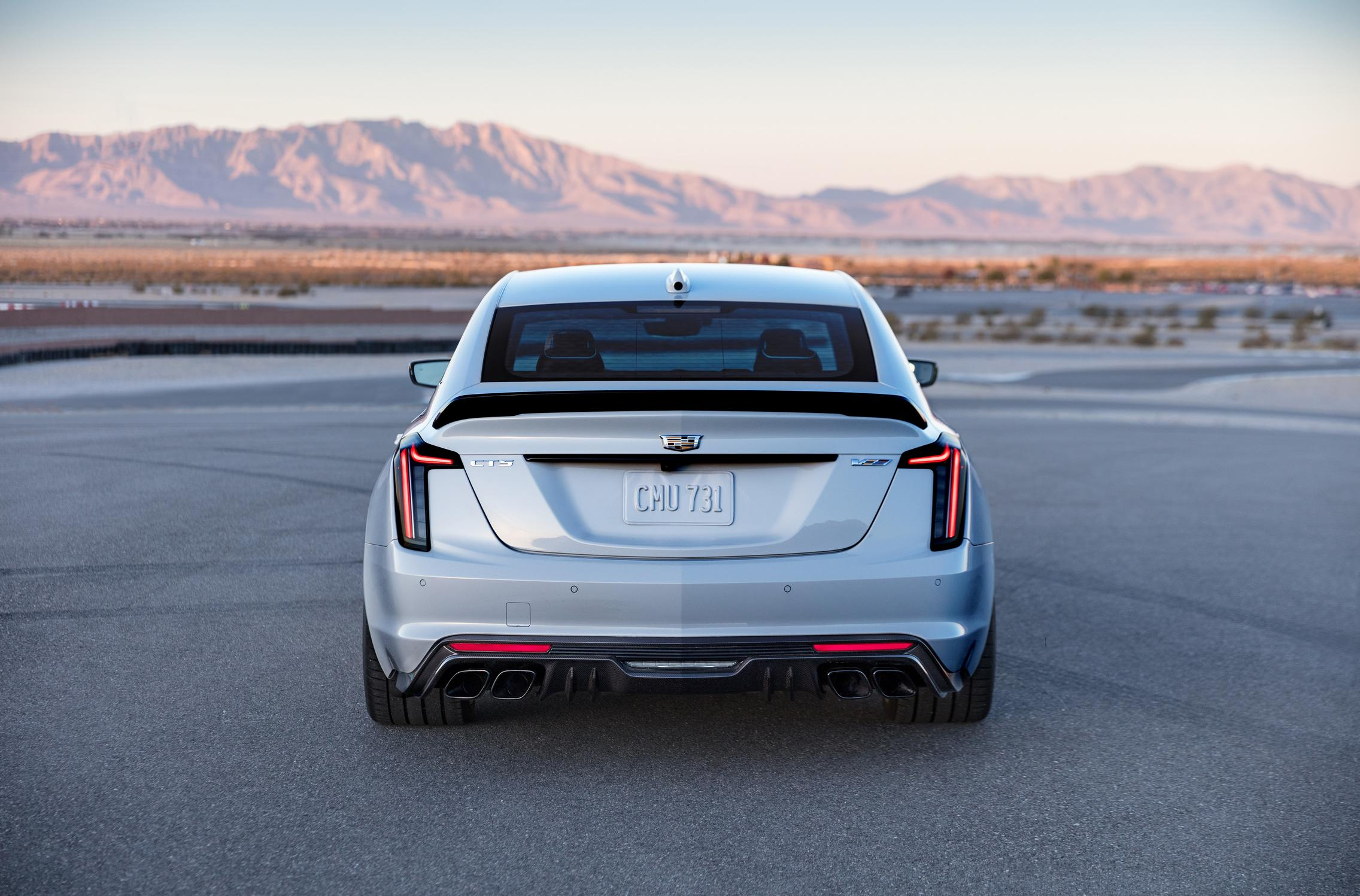 2022 Cadillac CT5-V Blackwing rear lights