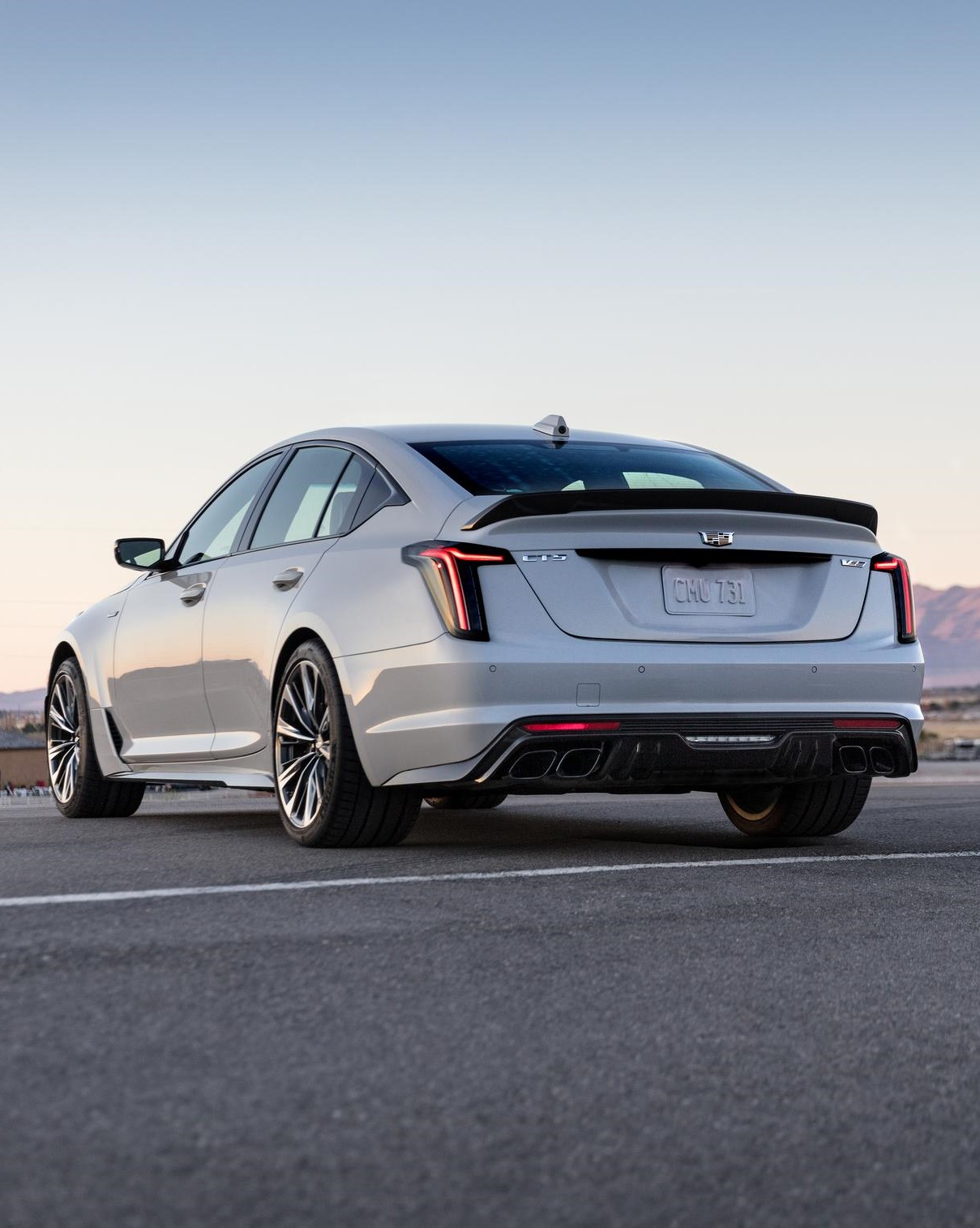 2022 Cadillac CT5-V Blackwing rear