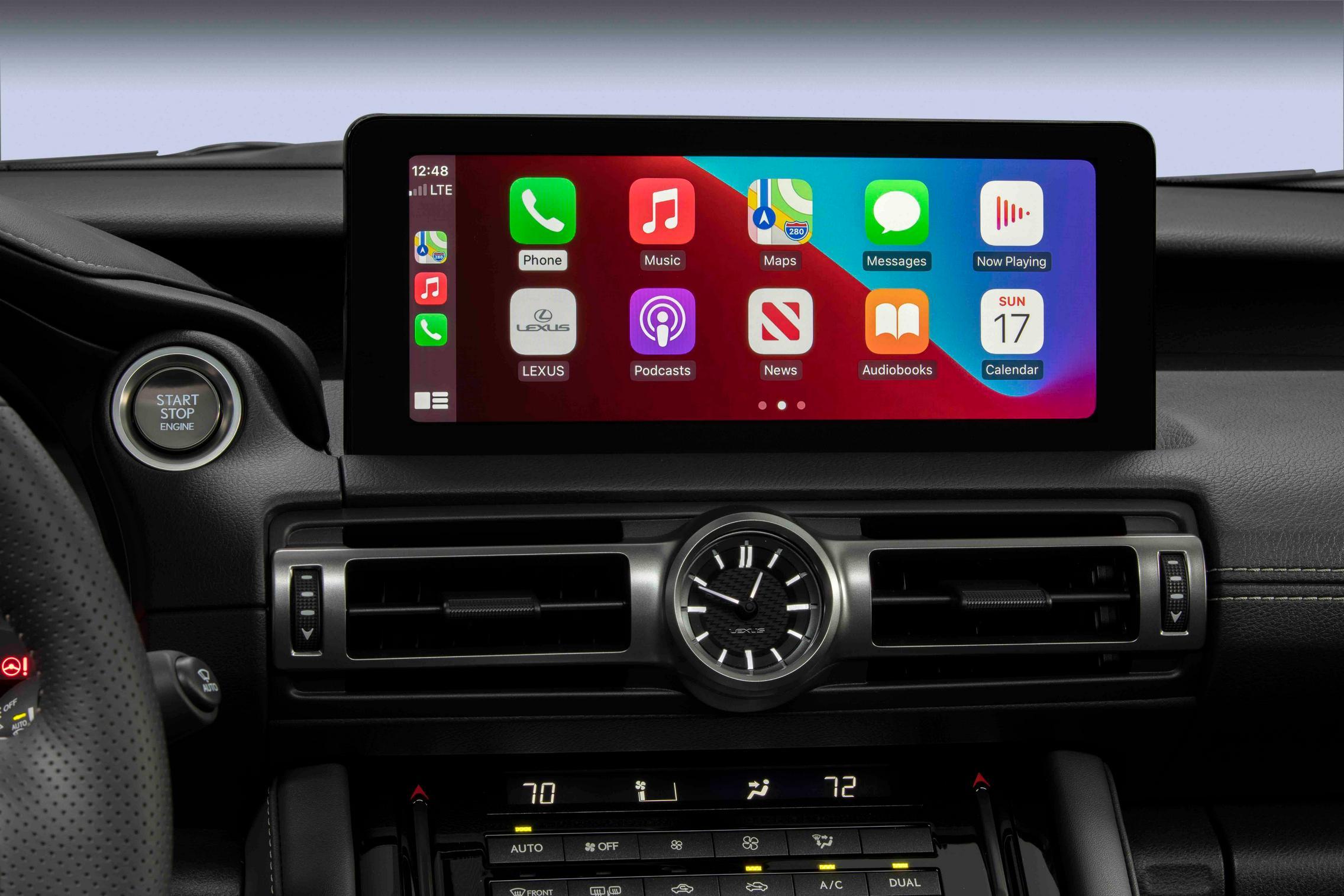 2022 Lexus IS 500 F Sport Performance interior