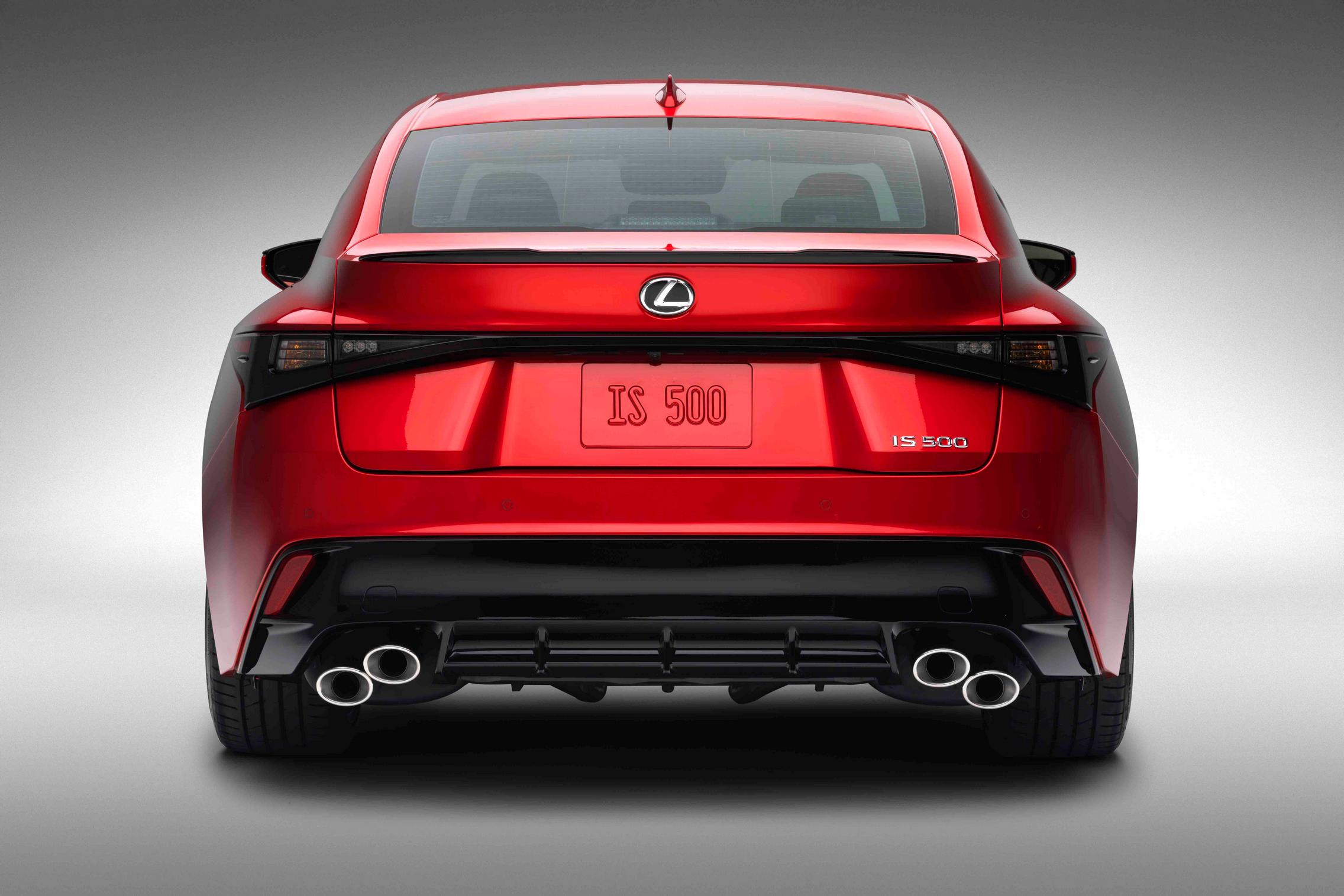 2022 Lexus IS 500 F Sport Performance rear lights