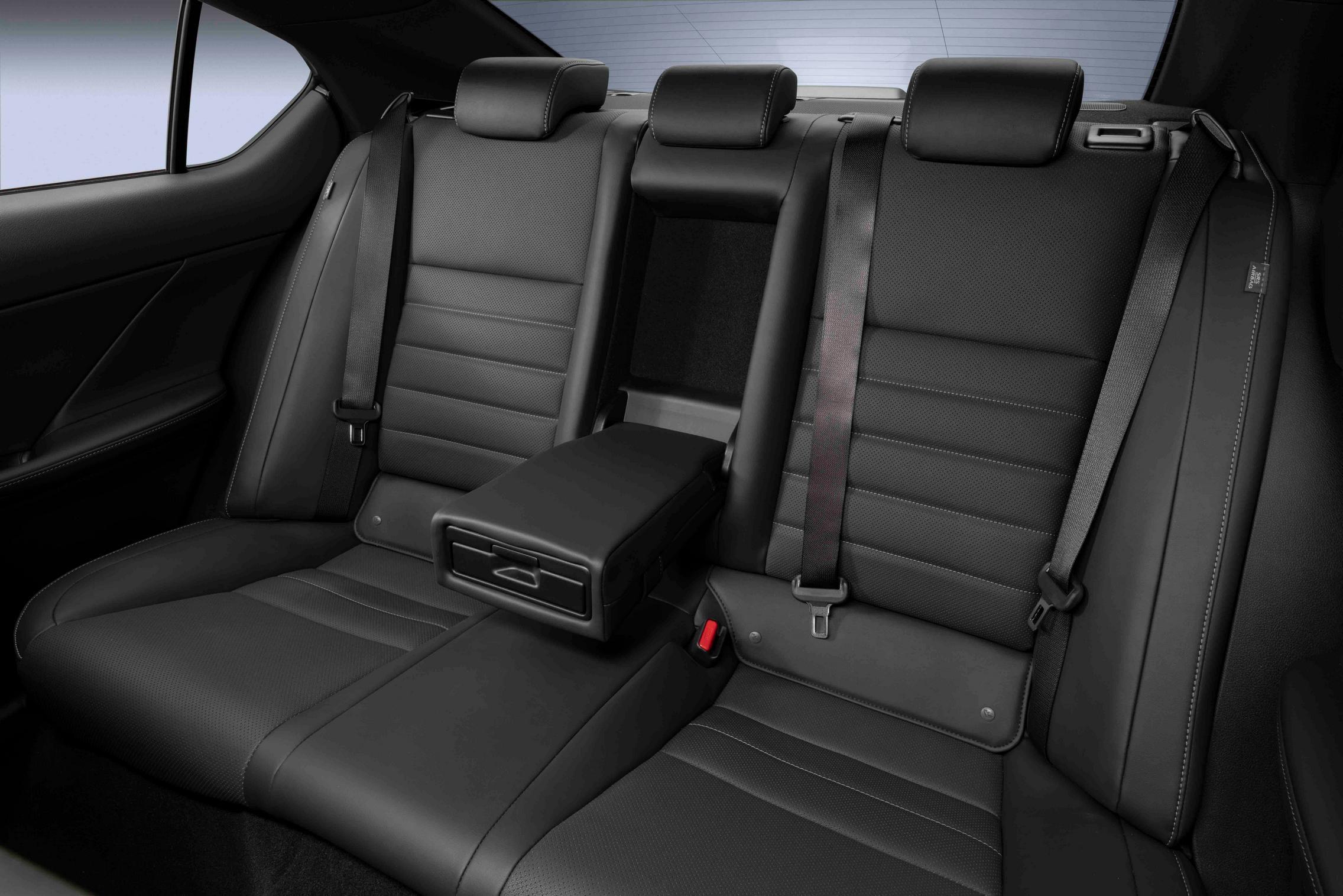 2022 Lexus IS 500 F Sport Performance rear seats