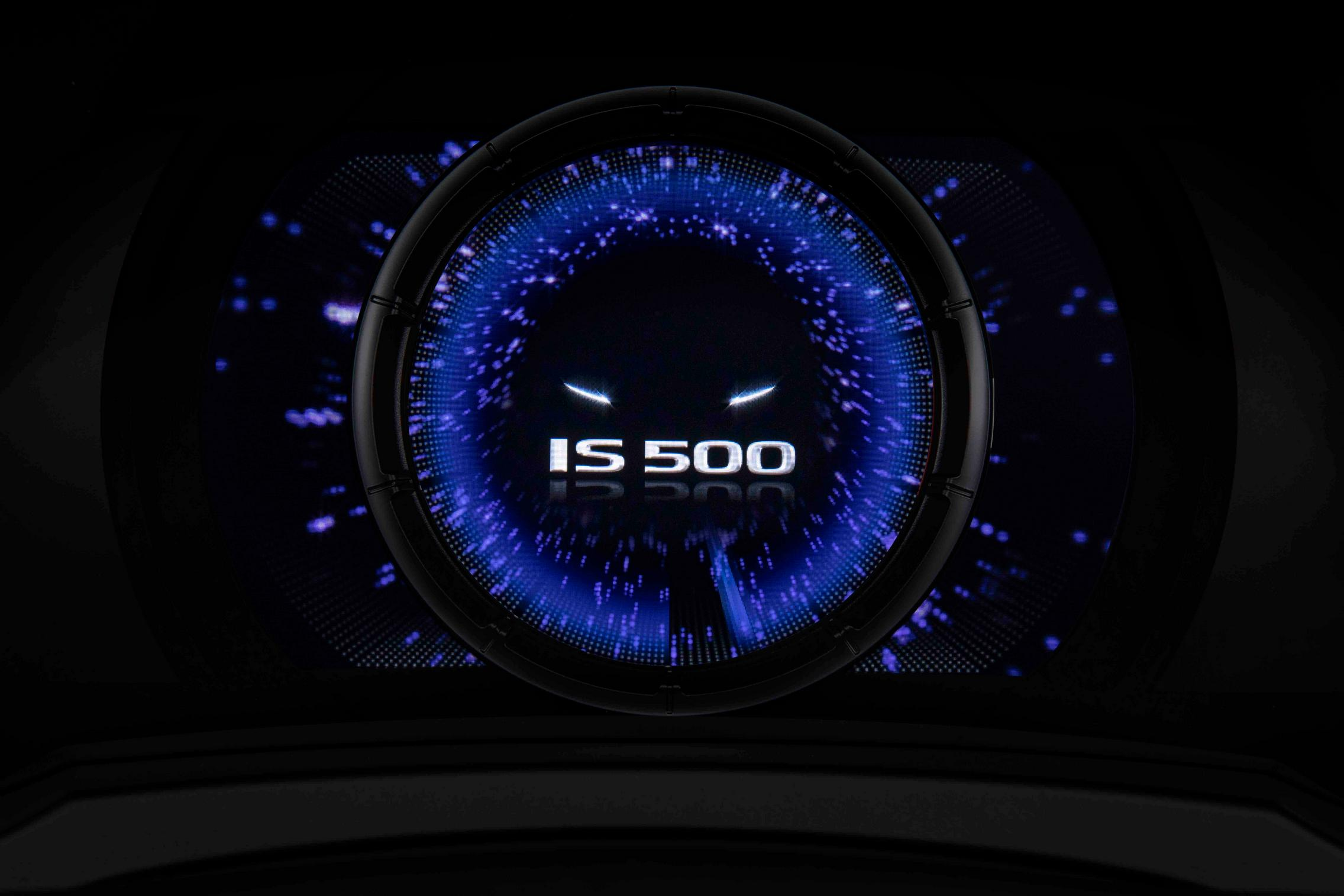 2022 Lexus IS 500 F Sport Performance rev