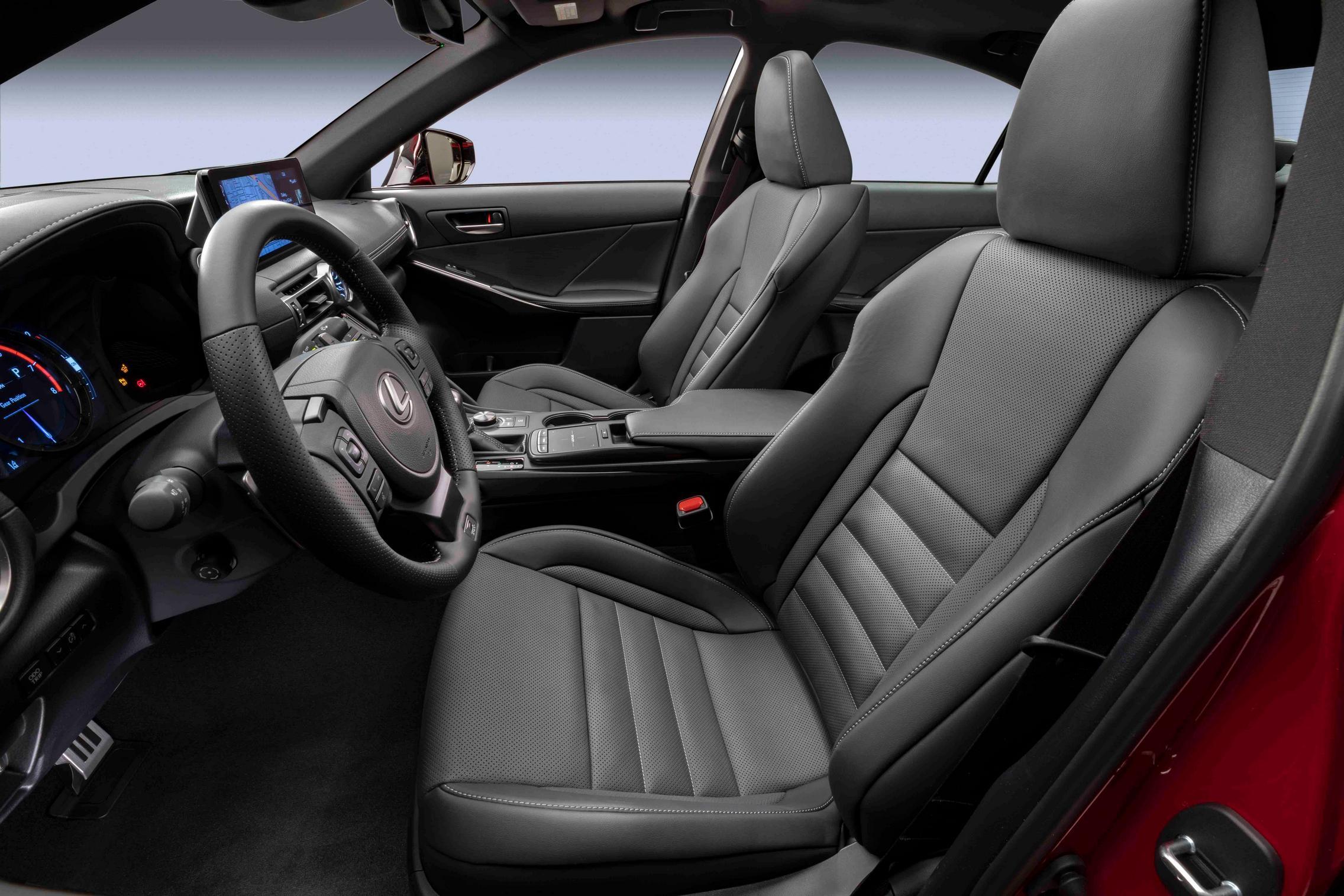 2022 Lexus IS 500 F Sport Performance seats