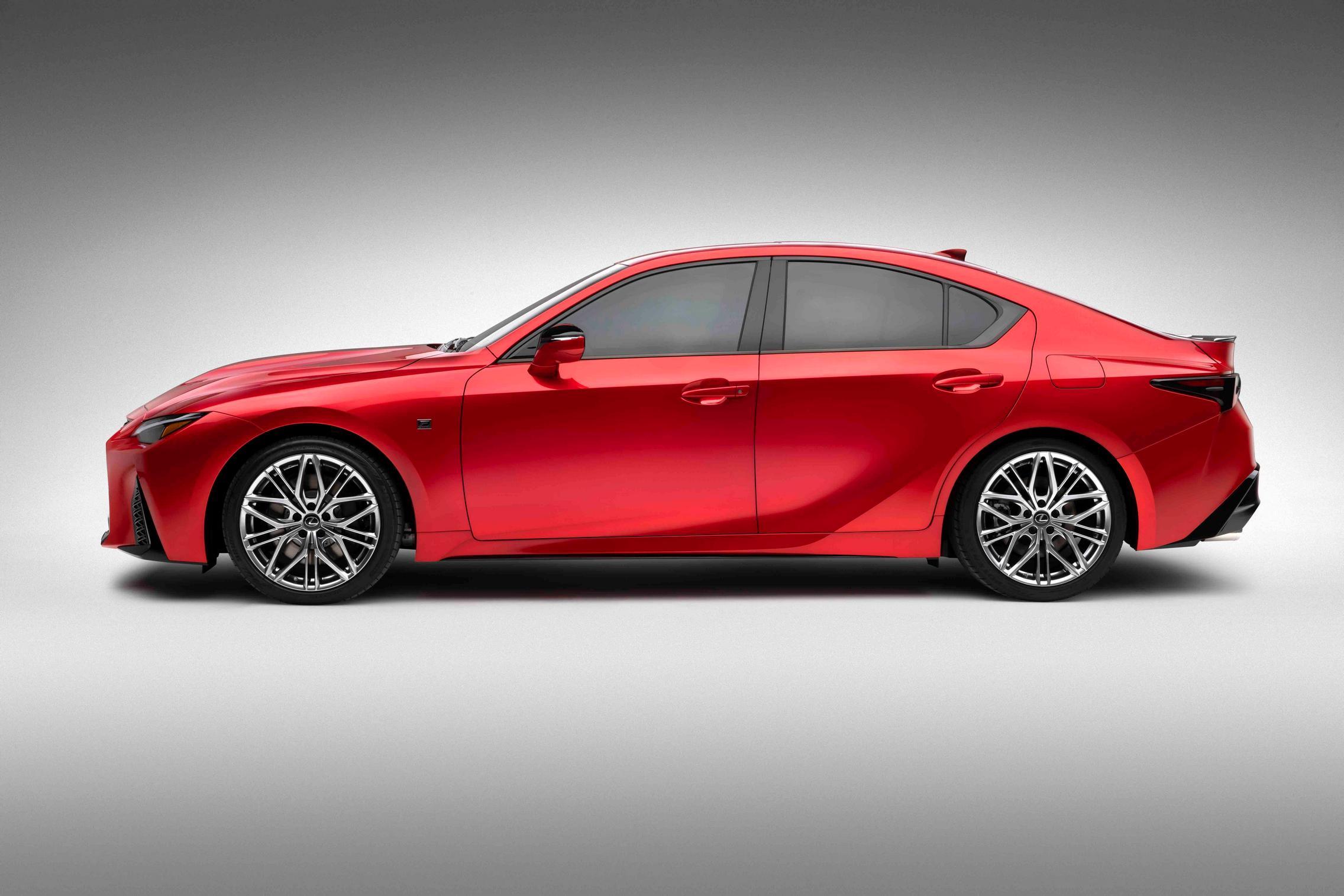 2022 Lexus IS 500 F Sport Performance side