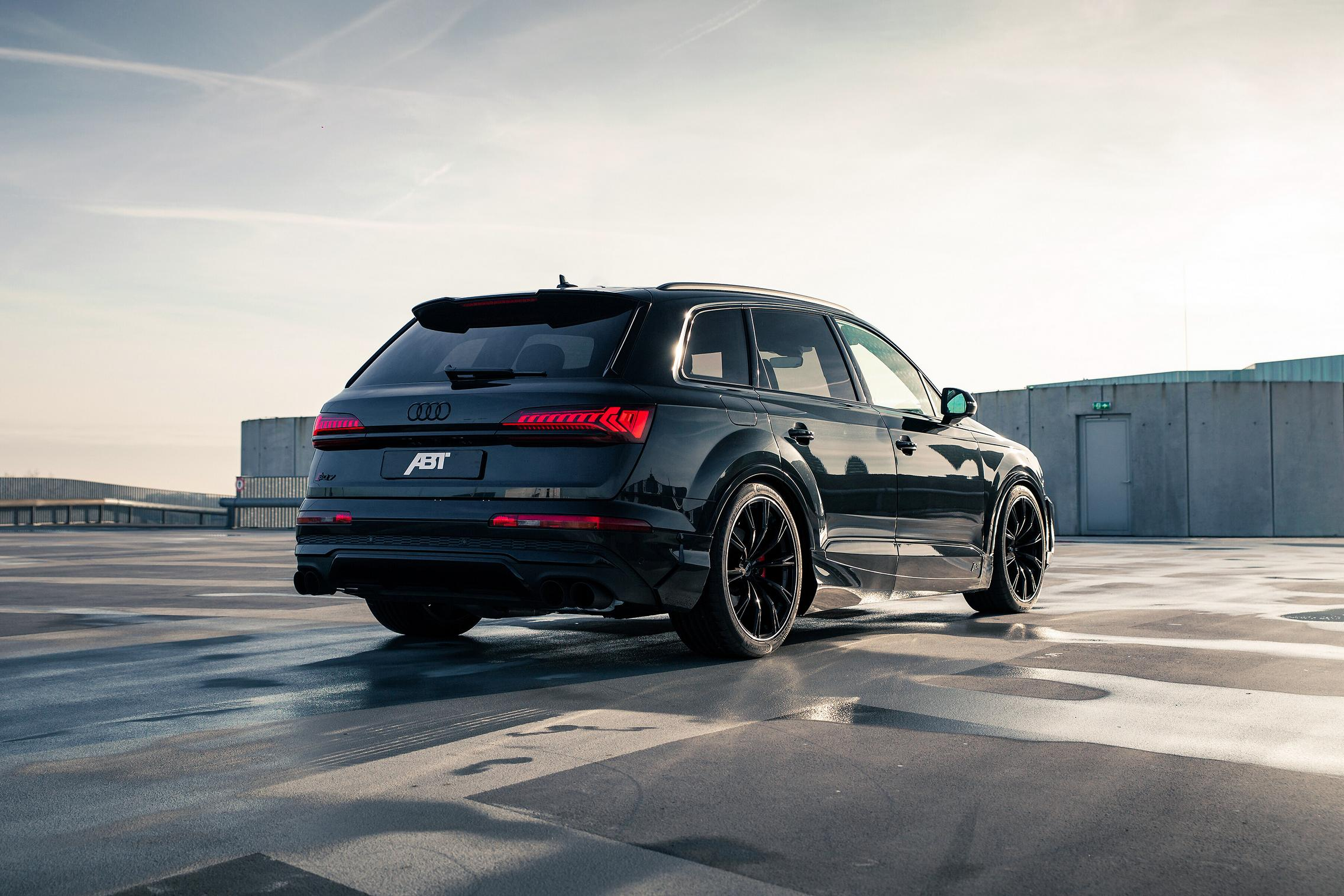 ABT Audi SQ7 rear