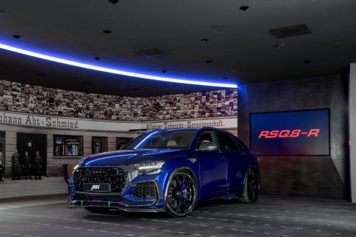 San Marino Blue ABT RSQ8-R is a 740hp Super SUV – 1 of 125 Worldwide