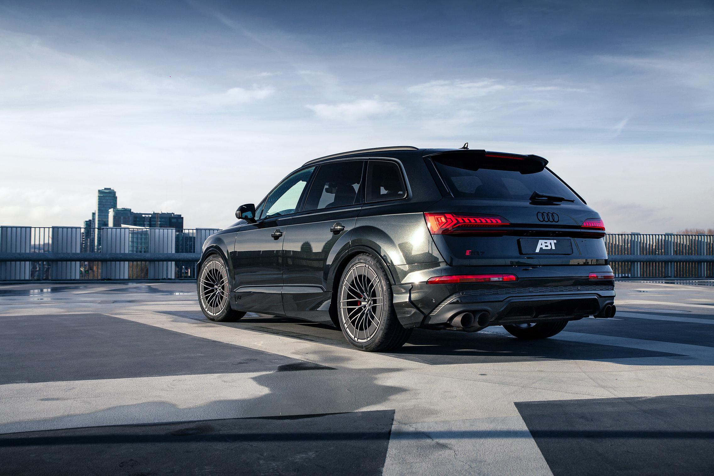 Black ABT Audi SQ7