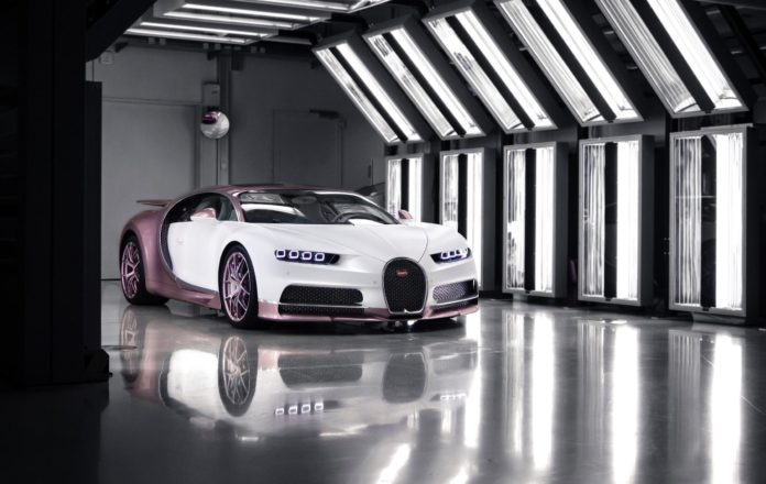 $3.2 Million Valentine's Gift: 1 of 1 Bugatti Chiron Sport Gifted to Wife