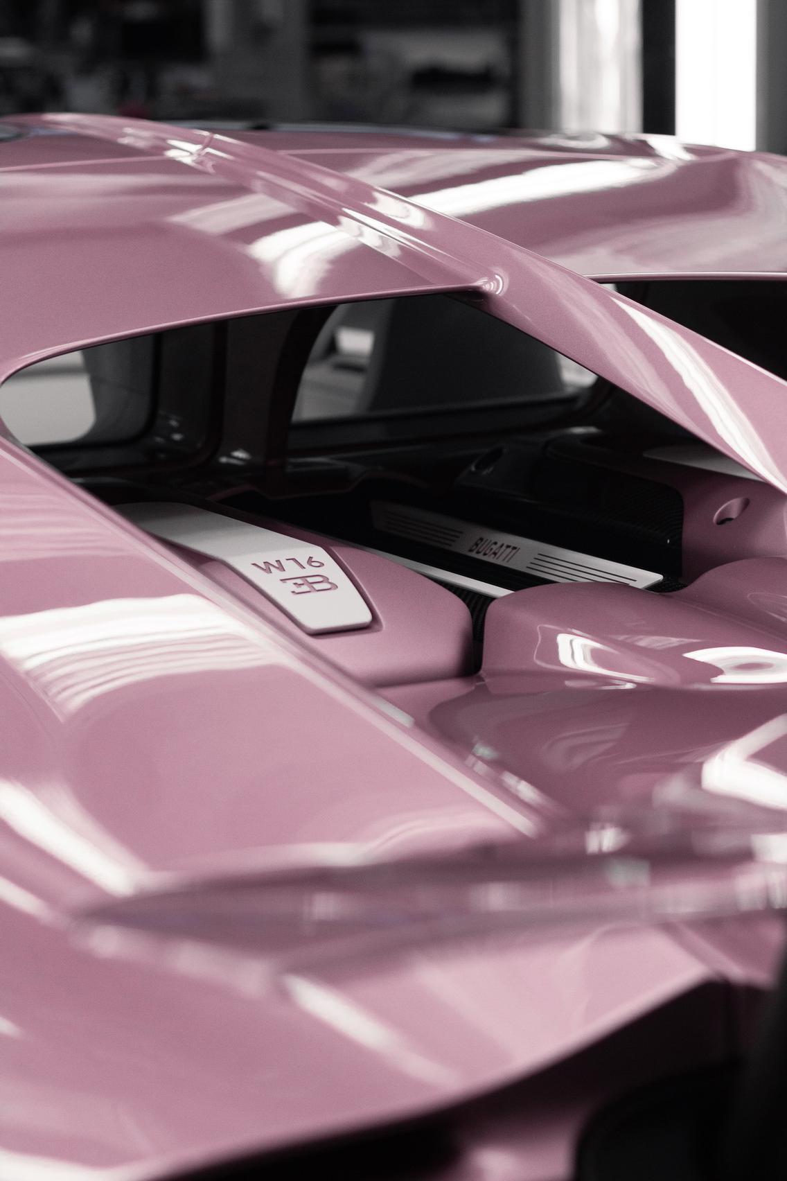 Bugatti Chiron Sport engine