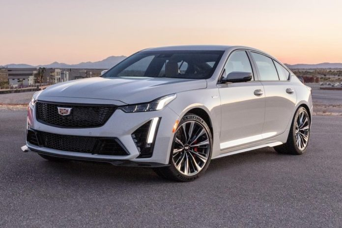 2022 Cadillac CT5-V Blackwing specs
