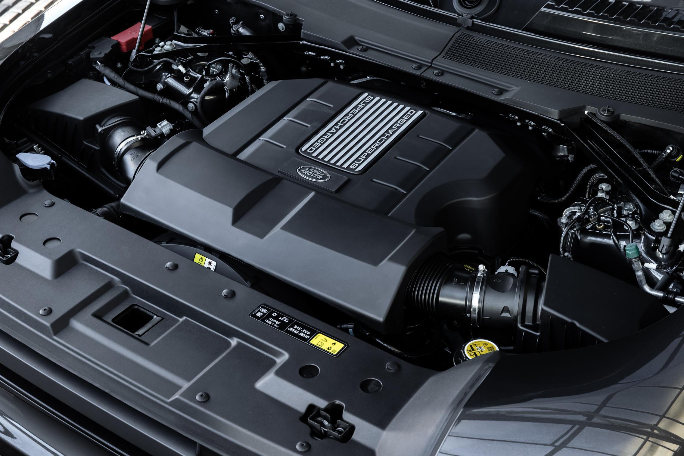 Defender V8 Engine
