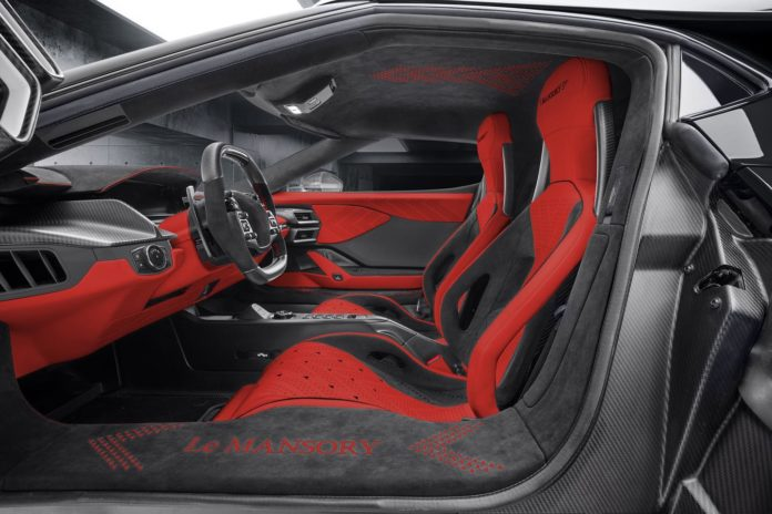 Ford GT Mansory interior