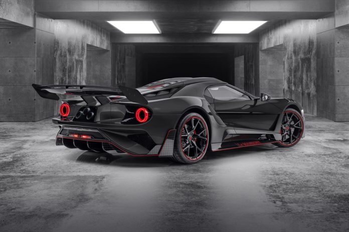 Ford GT Mansory rear