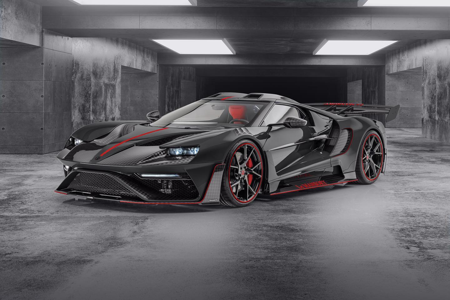"Mansory Reveals Second Ford GT ""Le Mansory"""
